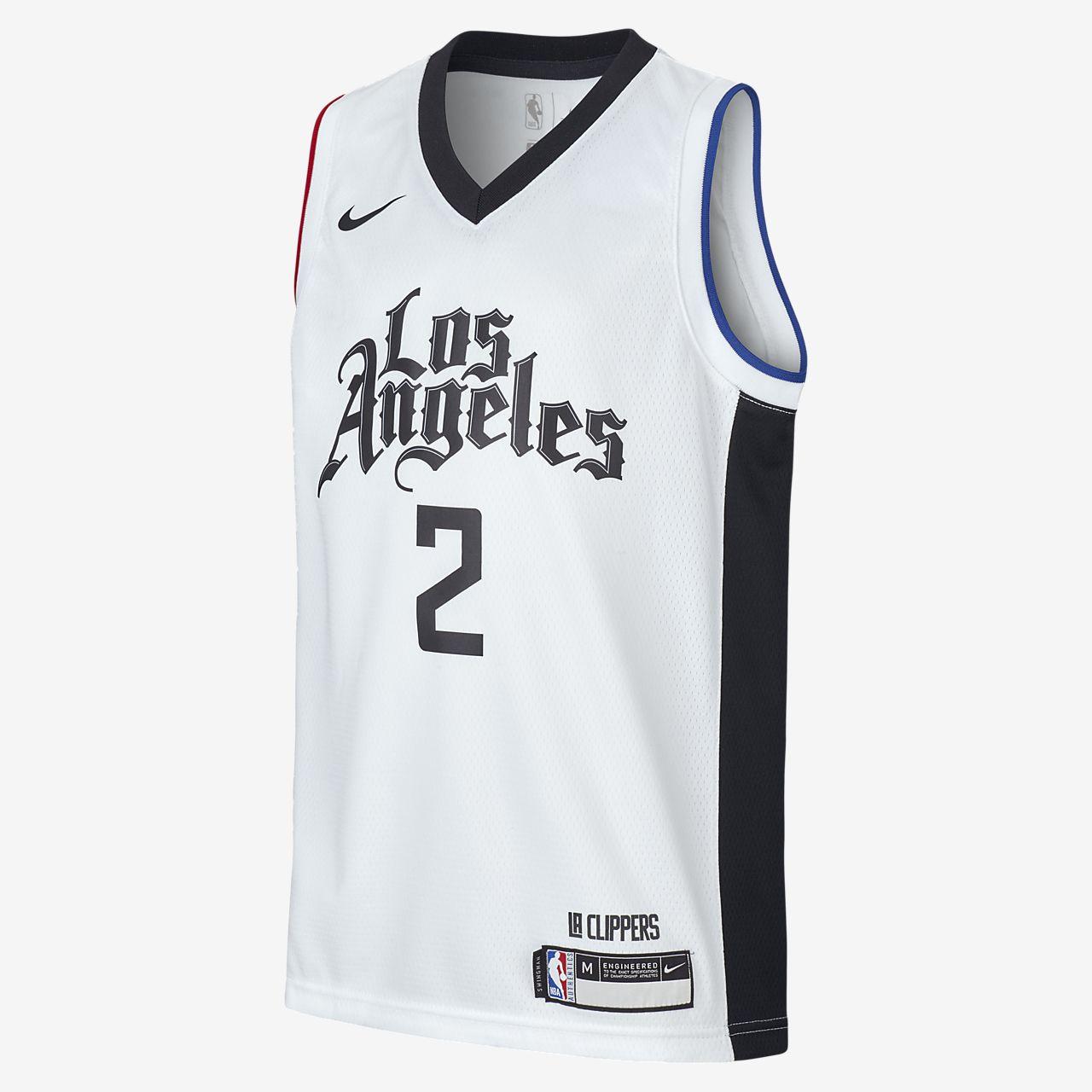 Dres Nike NBA Swingman Kawhi Leonard Clippers City Edition pro větší děti