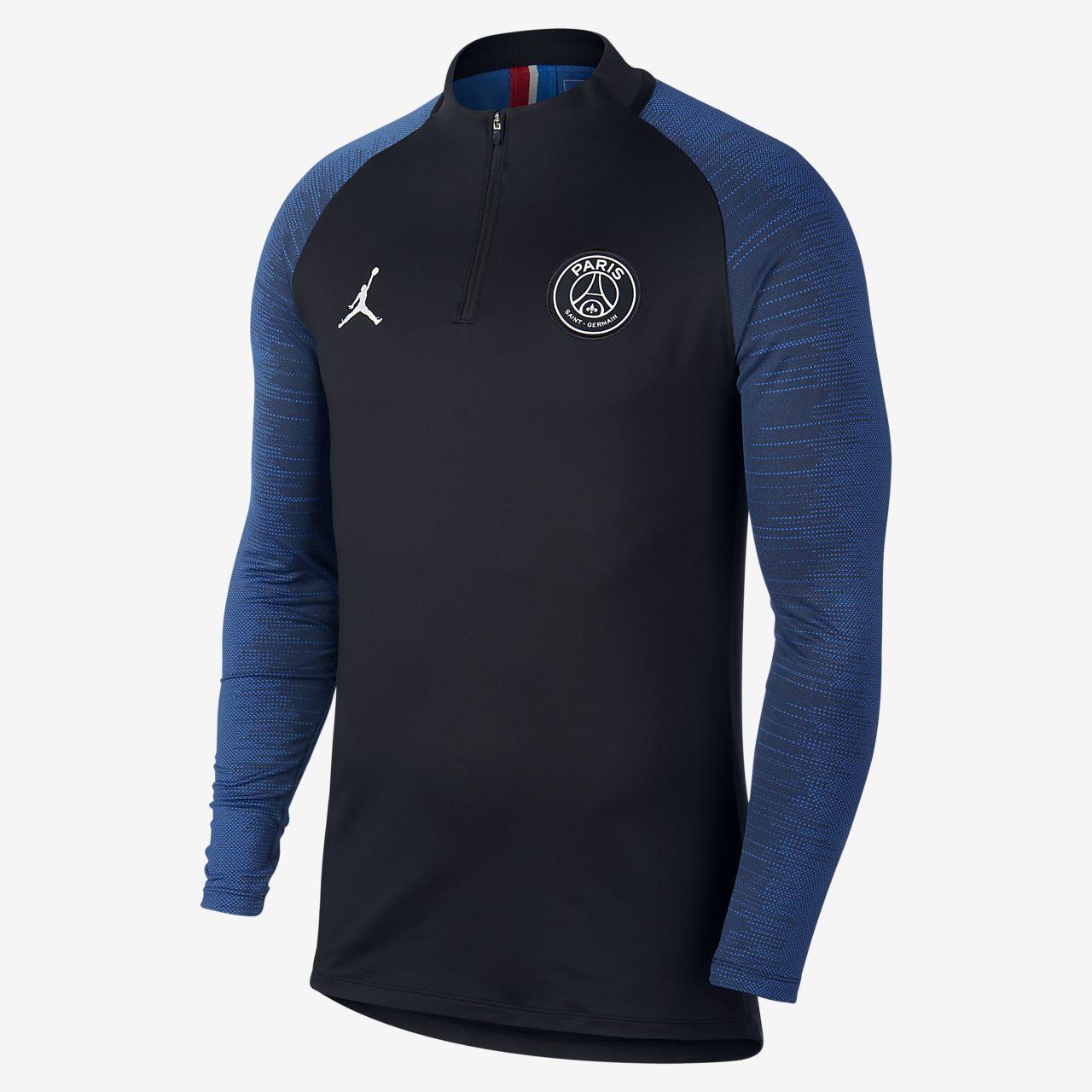 Prenda para la parte superior de entrenamiento de fútbol para hombre Jordan x Paris Saint-Germain Strike
