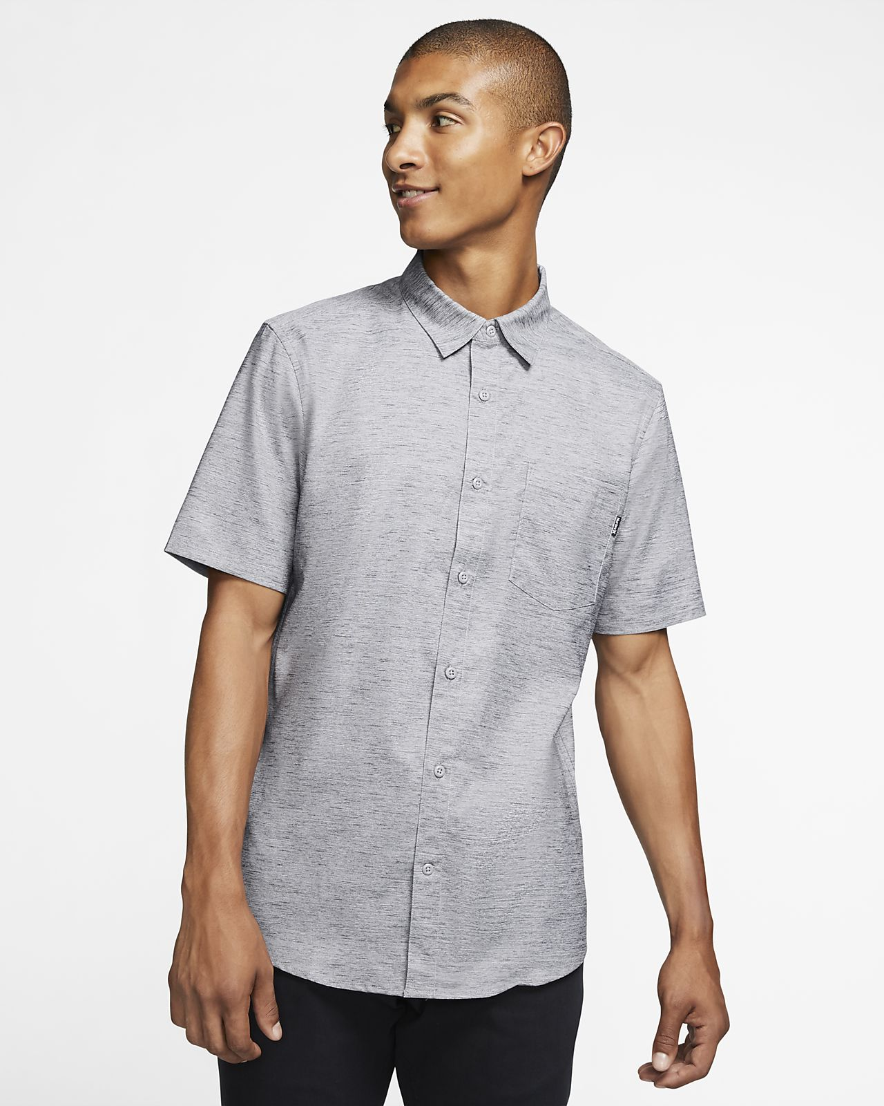 Hurley Marwick Men's Short-Sleeve Top