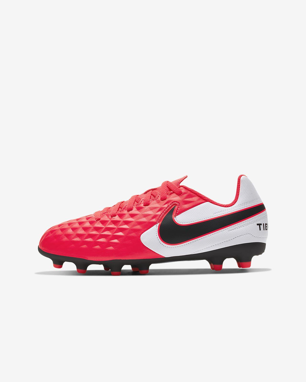 Nike JR LEGEND 7 CLUB FG scarpe calcio bambino Tiempo NERO