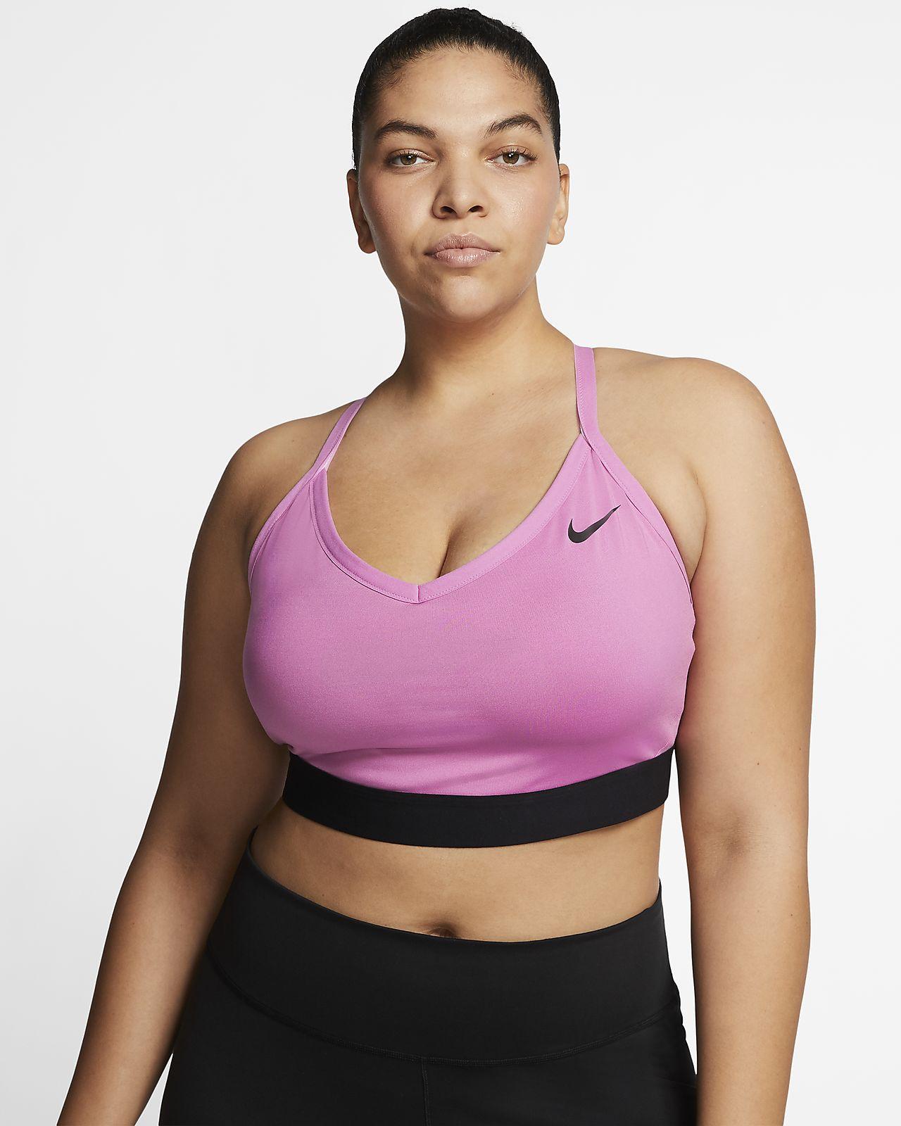 Nike Indy Sostenidors esportius de subjecció lleugera (talles grans) - Dona