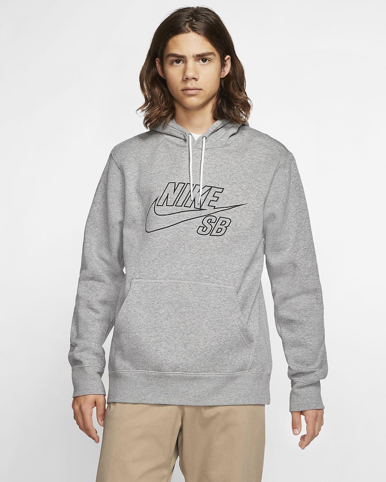 Męska bluza z kapturem do skateboardingu Nike SB