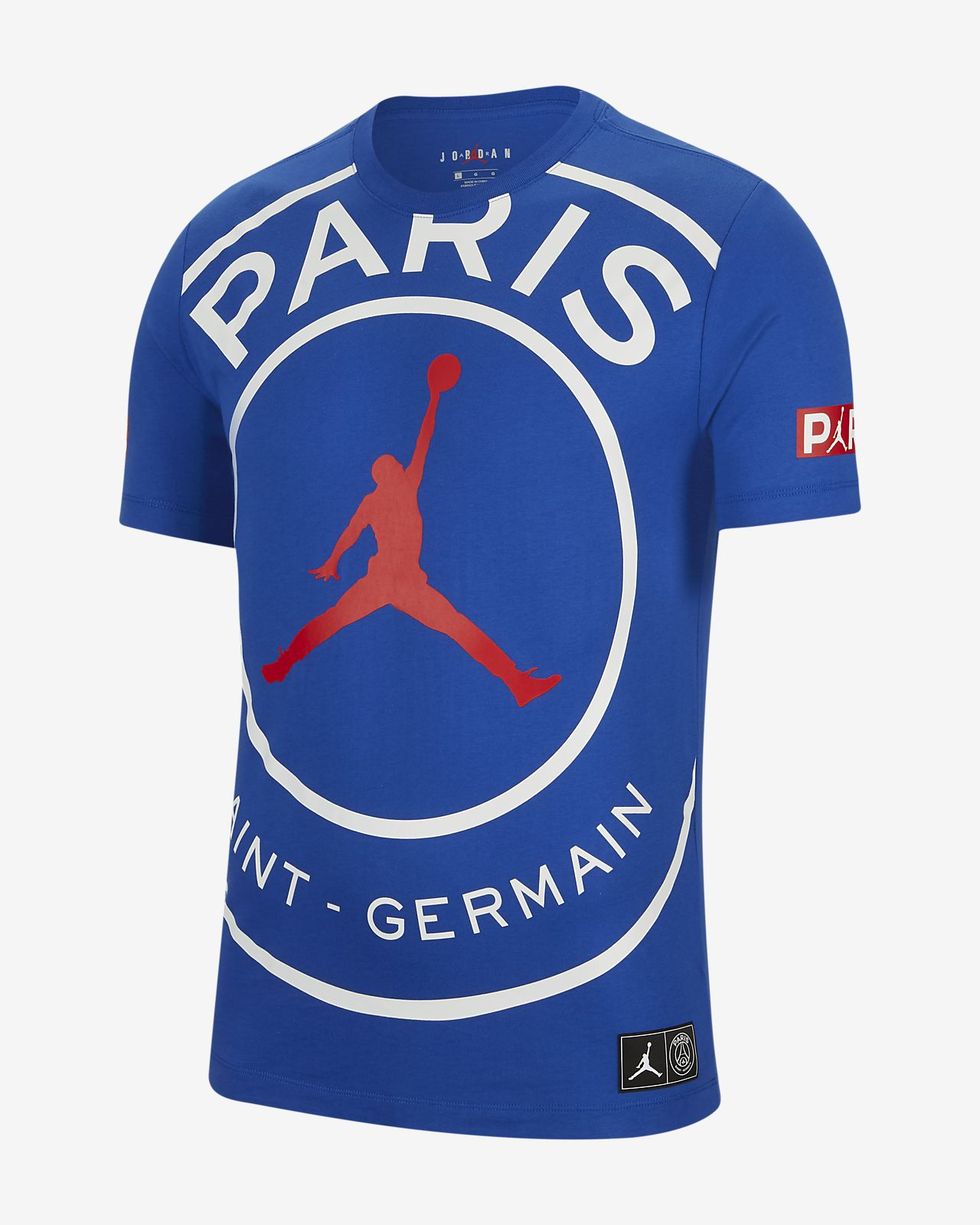 Paris Saint-Germain Men's Logo T-Shirt