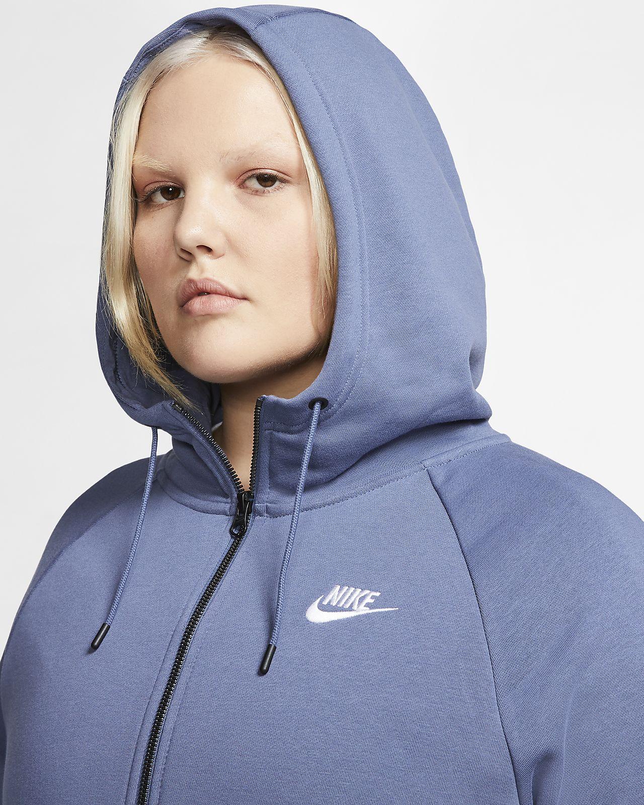 Nike Sportswear Essential (Plus Size) Women's Full Zip Hoodie