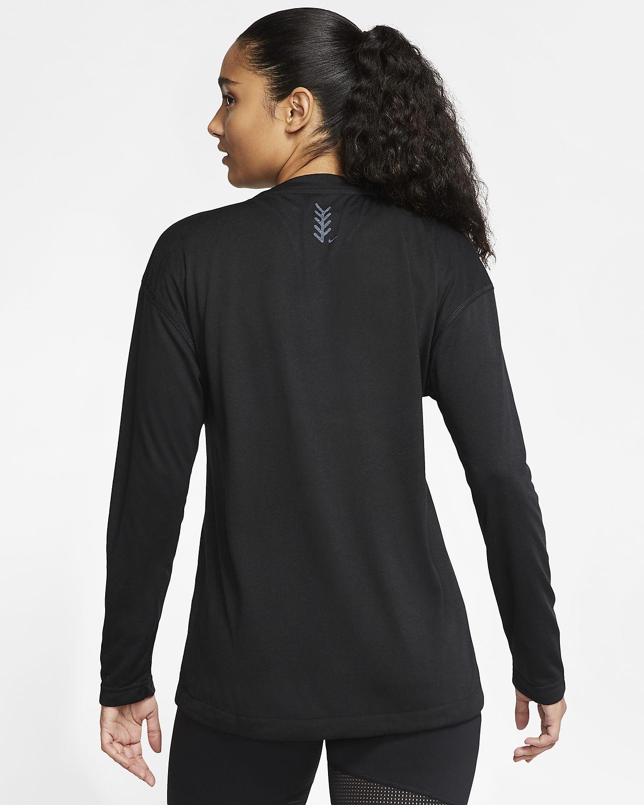 Nike Breathe Women's Long Sleeve Softball Top