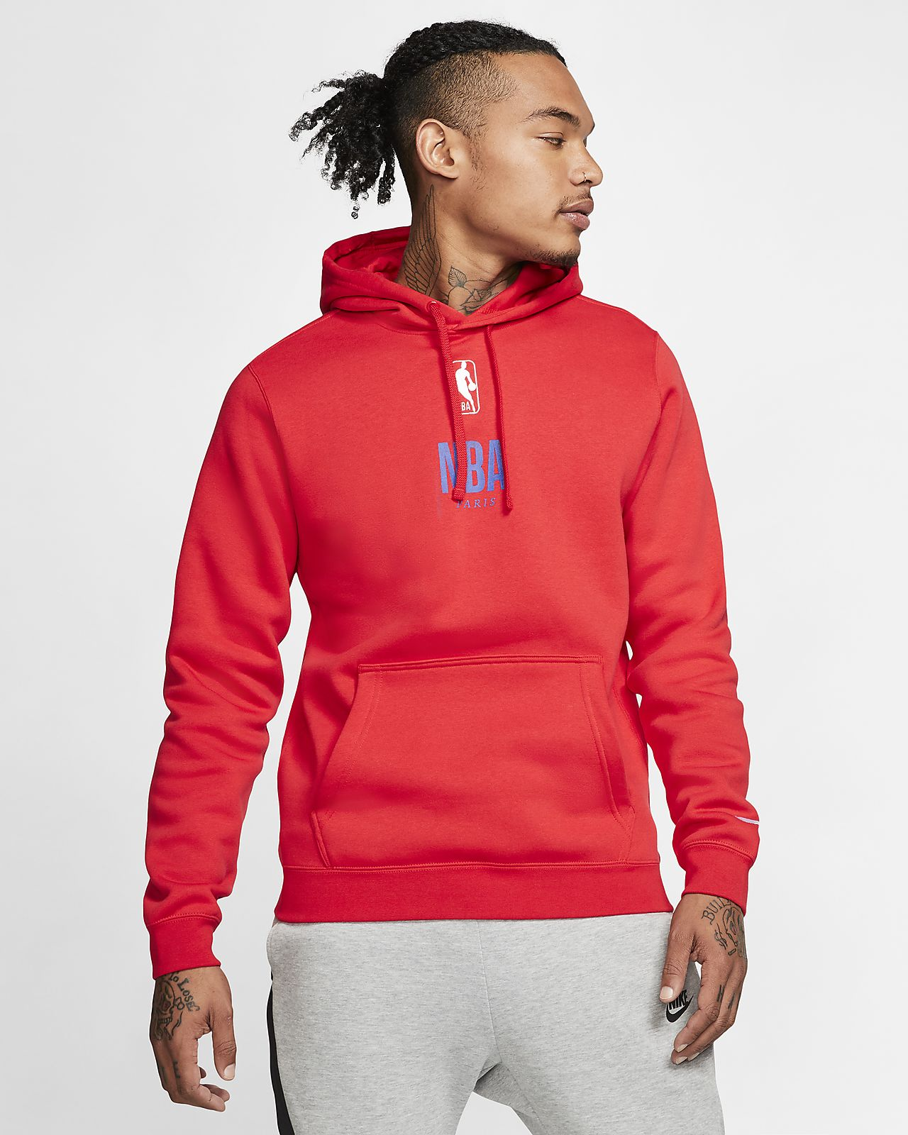 "Pullover NBA Nike Courtside ""Paris"" para homem"