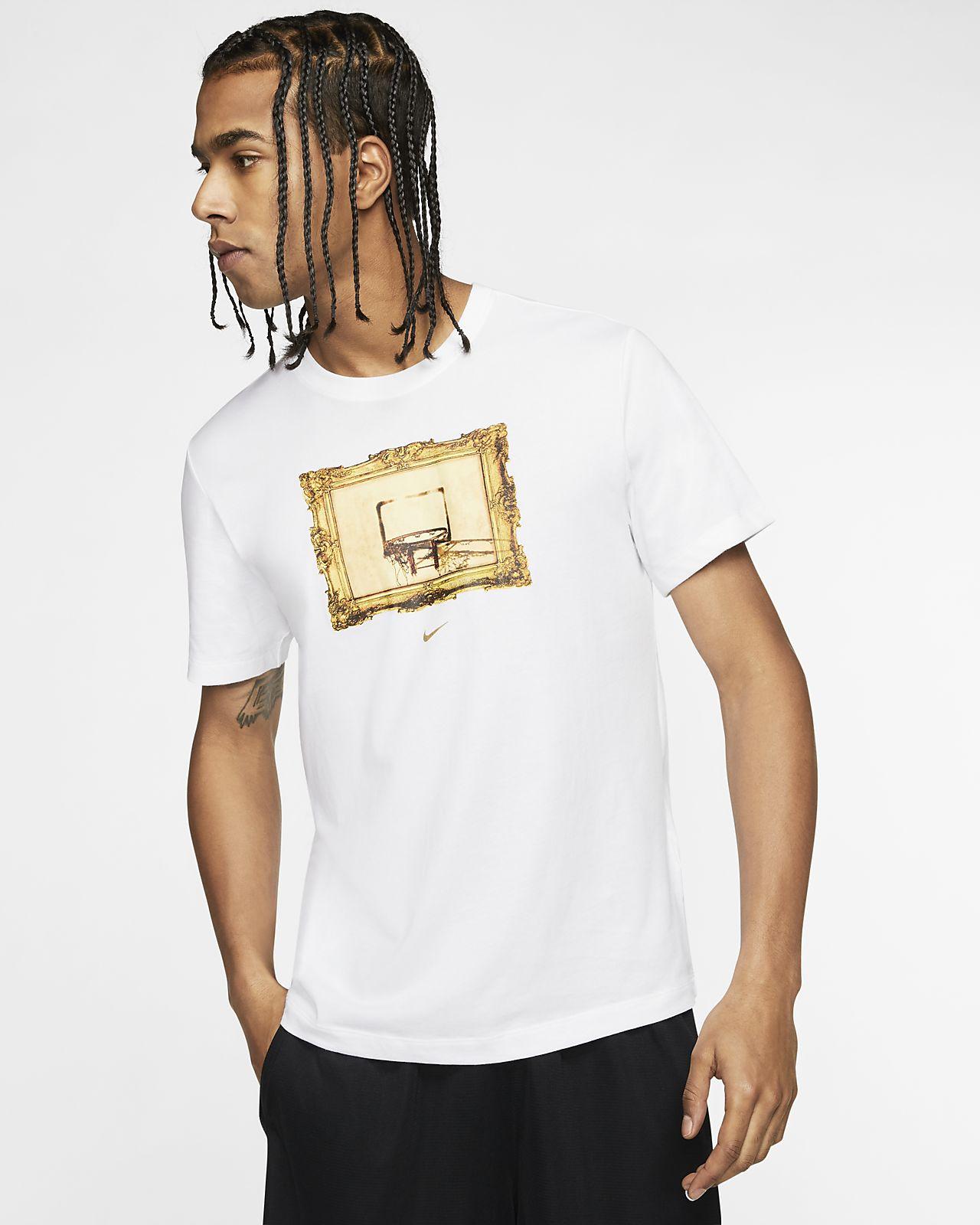 T-shirt de basquetebol Nike Dri-FIT para homem