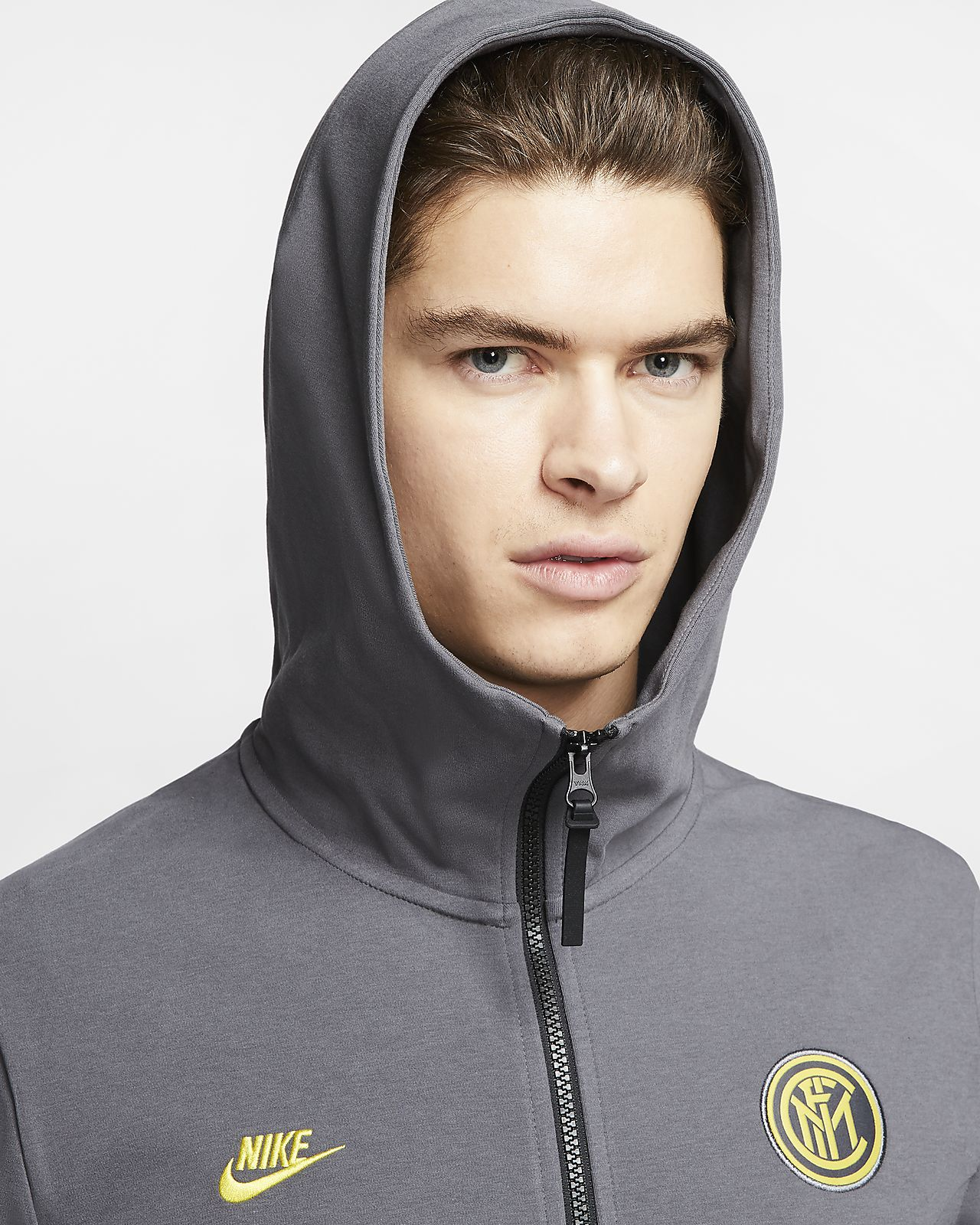 Inter Milan Tech Pack Men's Full Zip Hoodie
