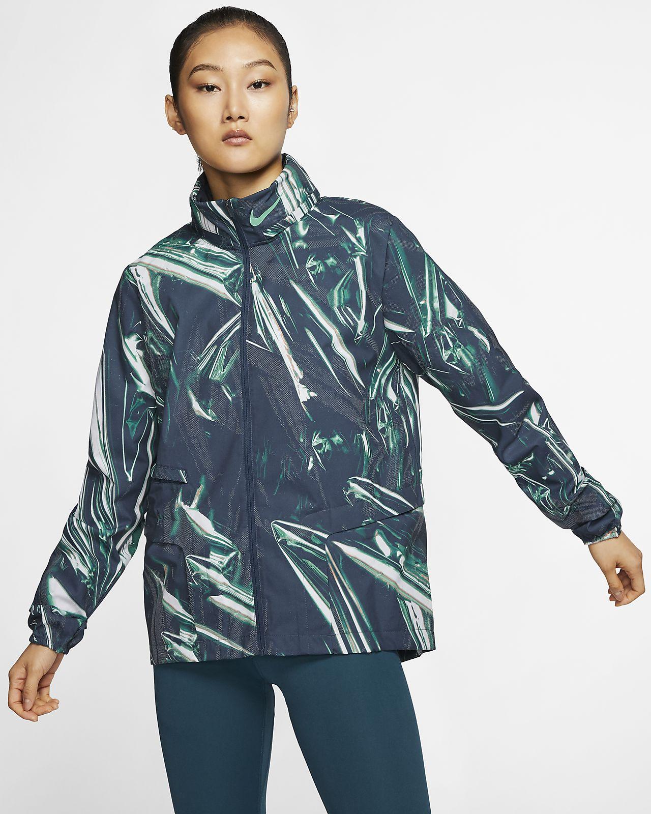 Chamarra de running de cierre completo para mujer Nike Shield