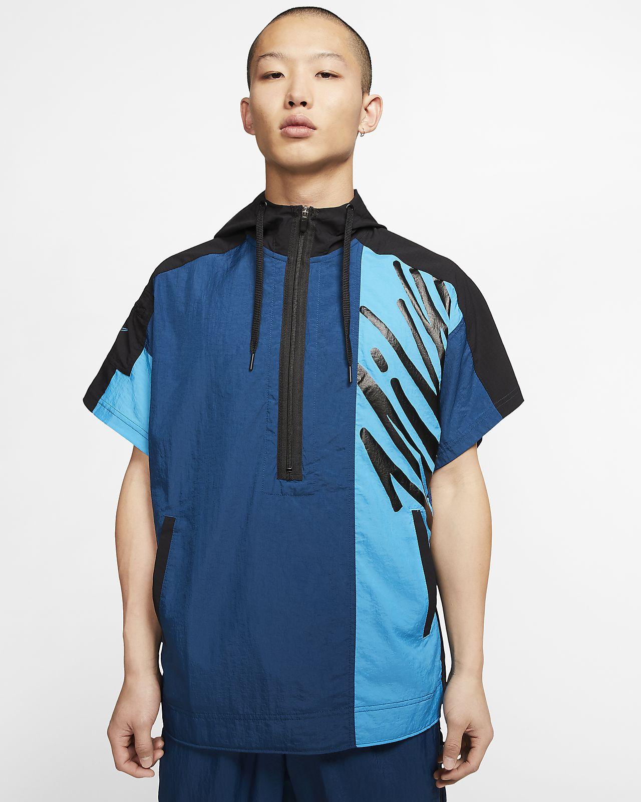 Nike Men's Short-Sleeve 1/2-Zip Training Hoodie