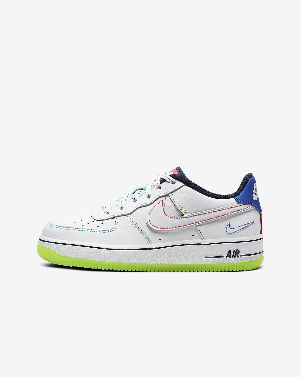 """Air Force 1 """"Outside the Lines"""" Big Kids' (Boys') Shoe"""