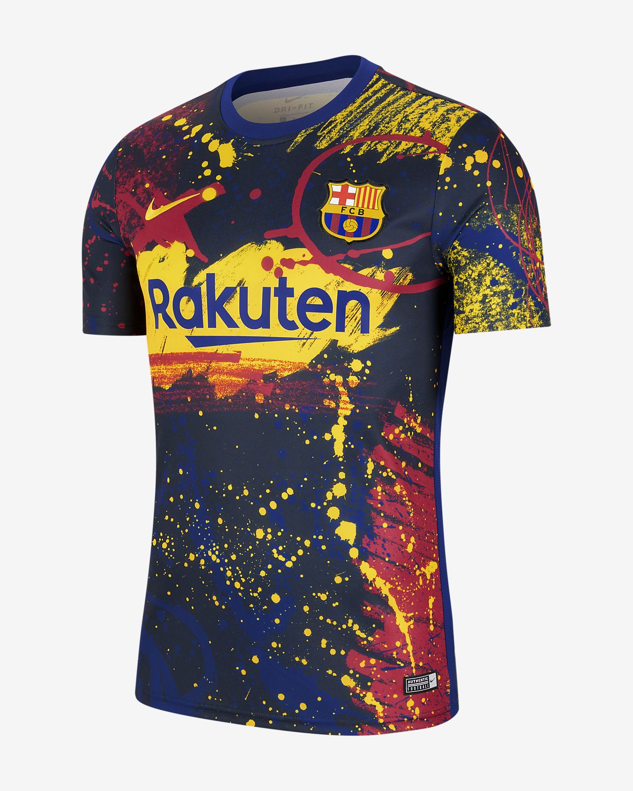 Męska koszulka piłkarska z krótkim rękawem FC Barcelona