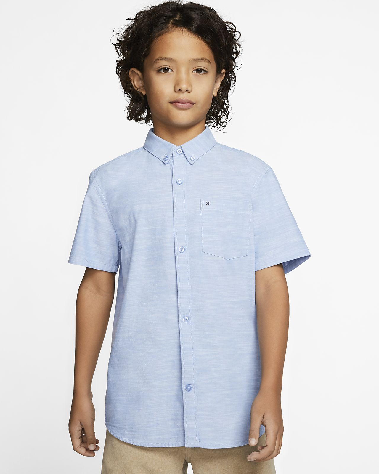 Hurley One And Only Boys' Short-Sleeve Top