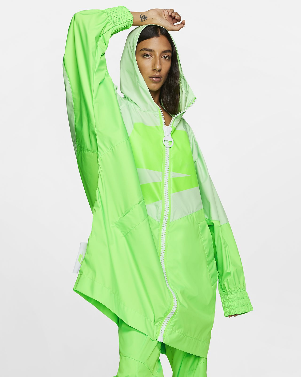 Nike Sportswear NSW Windrunner Damenjacke mit durchgehendem Reißverschluss