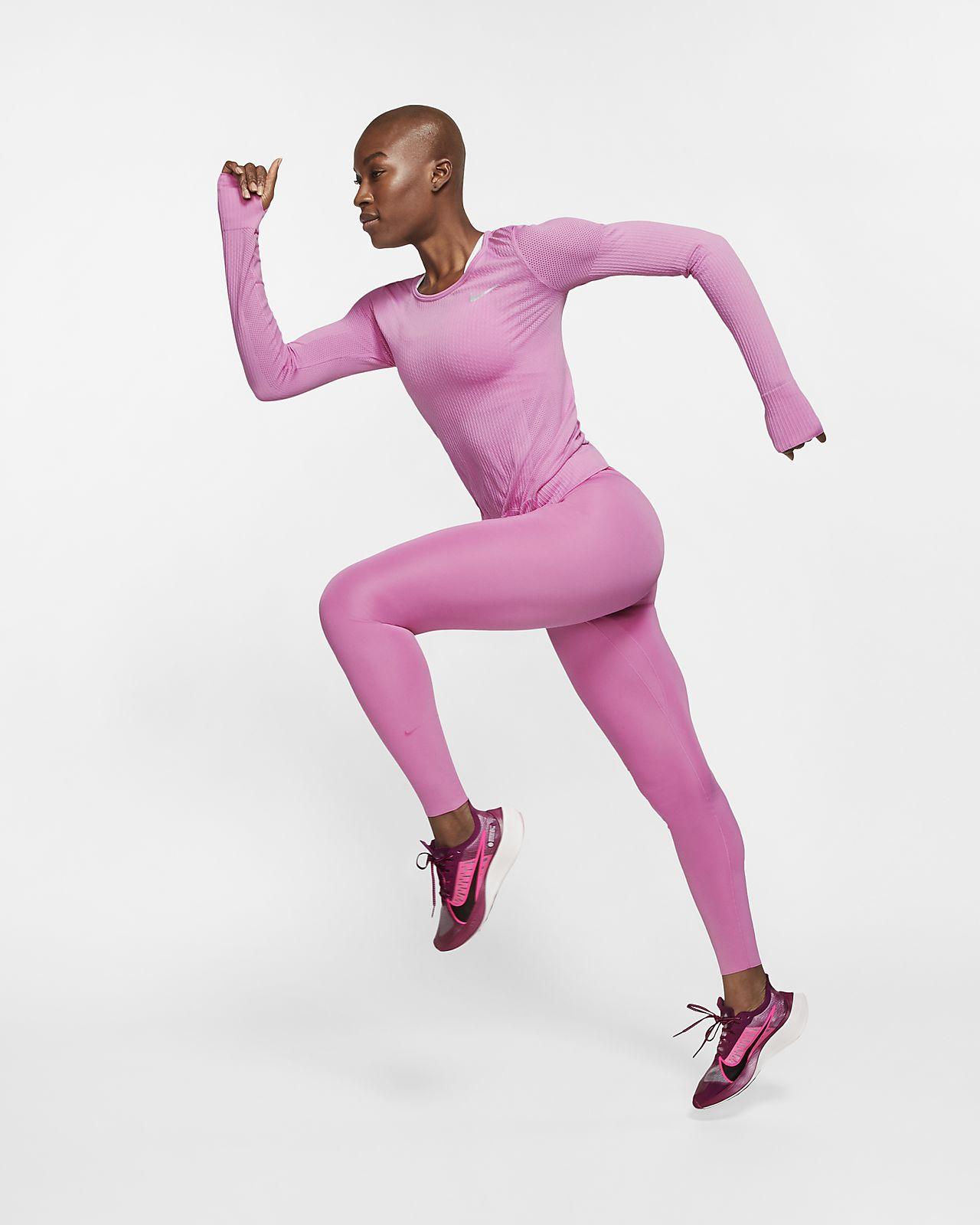 Maglia da running a manica lunga Nike Infinite Donna