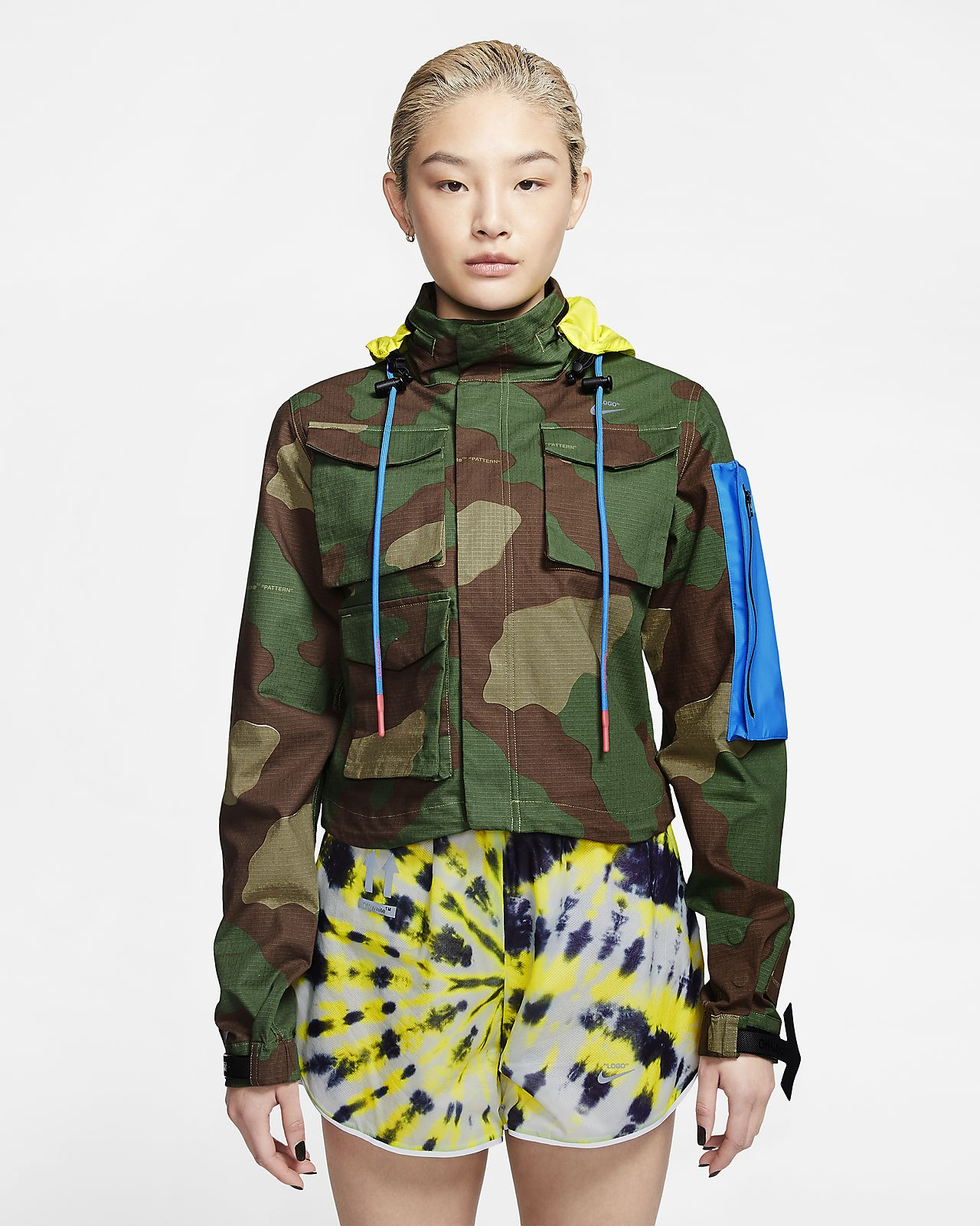 Nike x Off-White™ Women's Camo Jacket