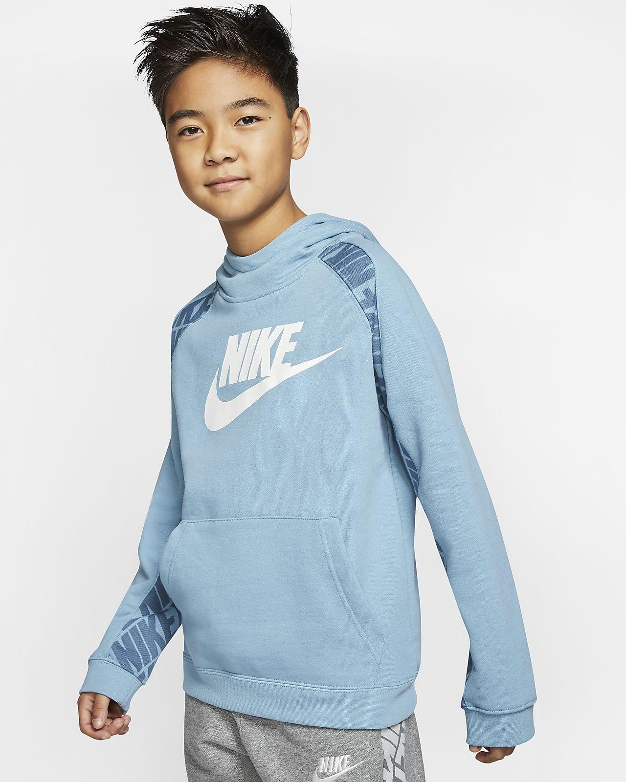 Sweat à capuche en molleton Nike Sportswear pour Garçon plus âgé