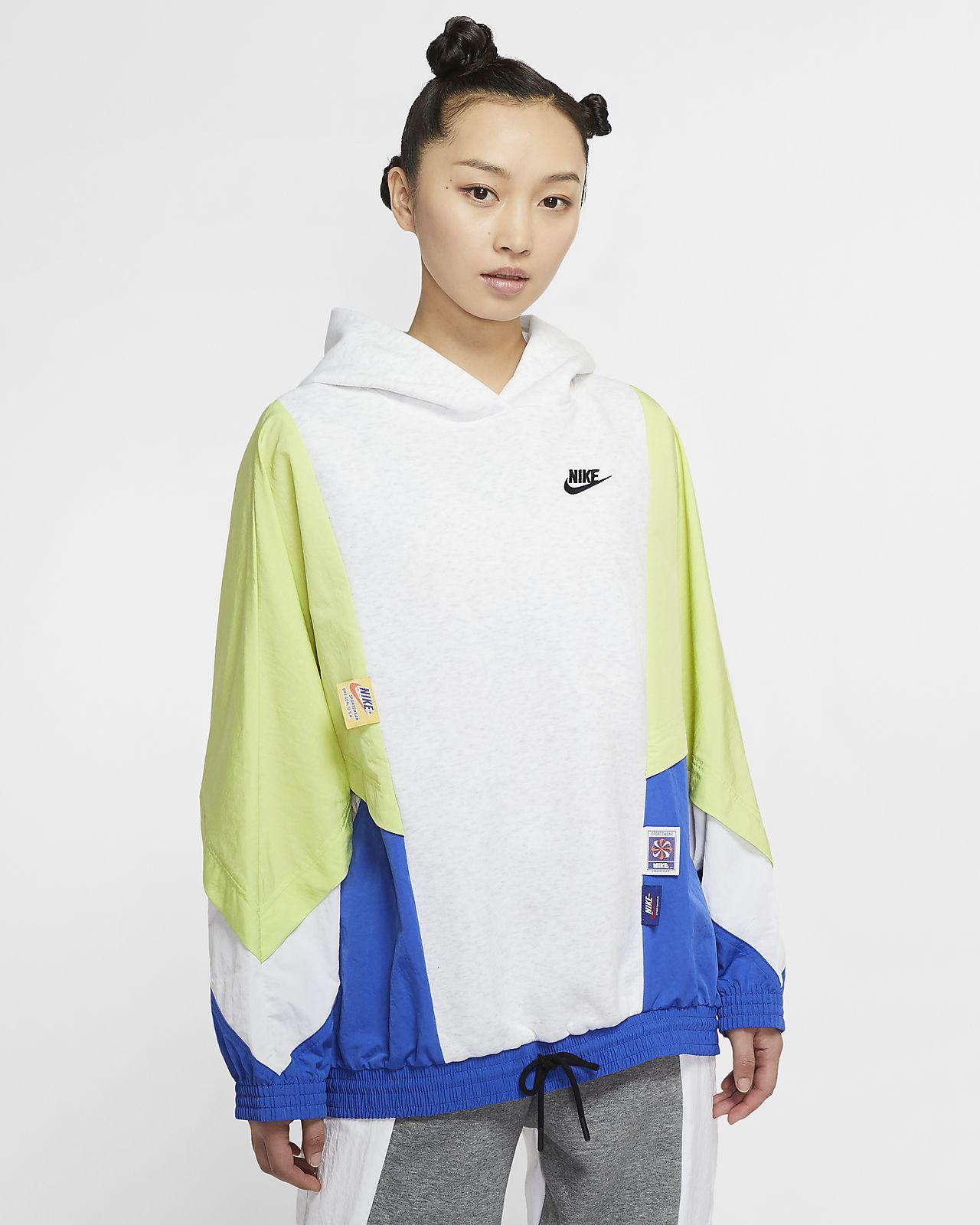 Nike Sportswear 女款套頭連帽上衣