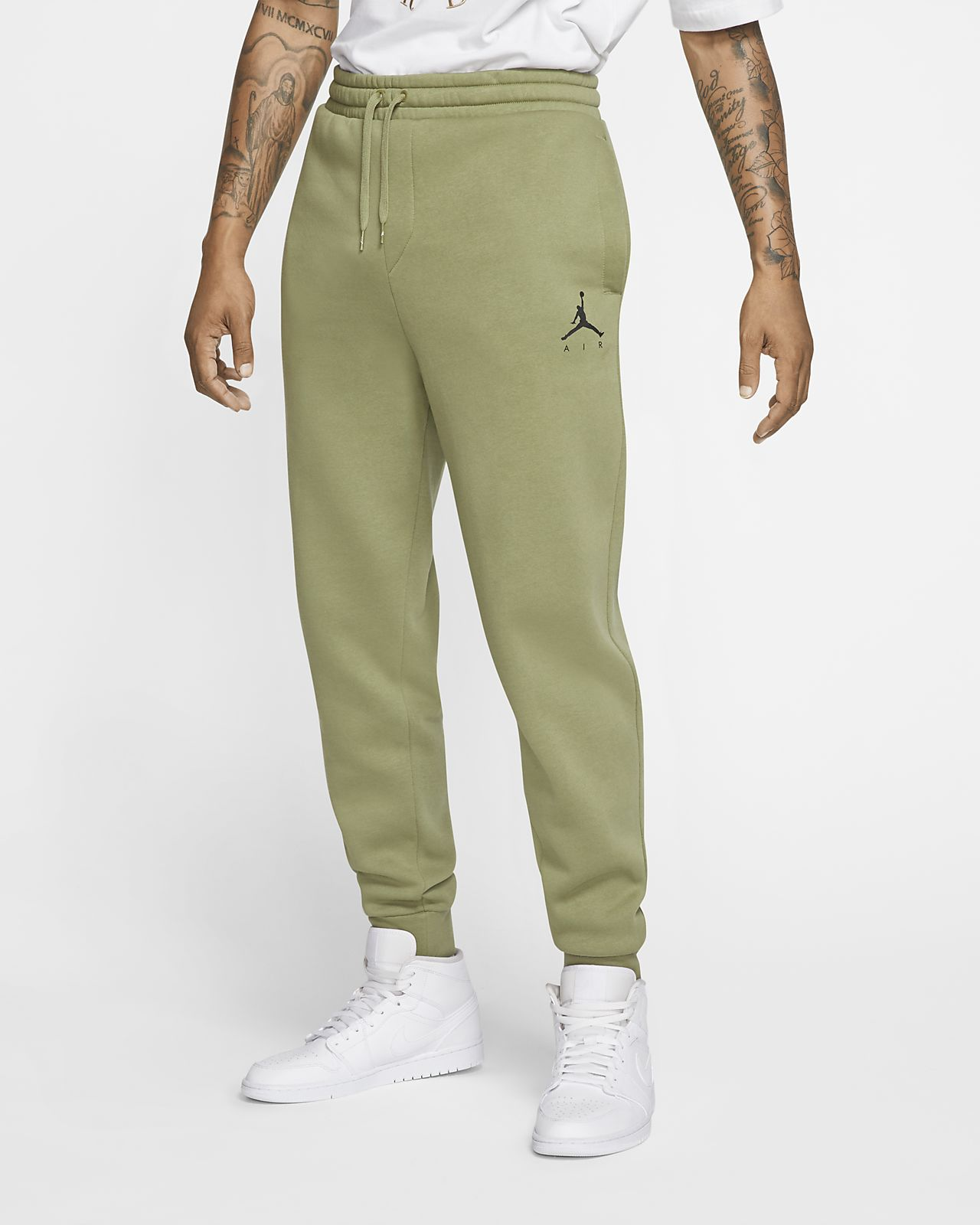 nike pantalon air fleece homme