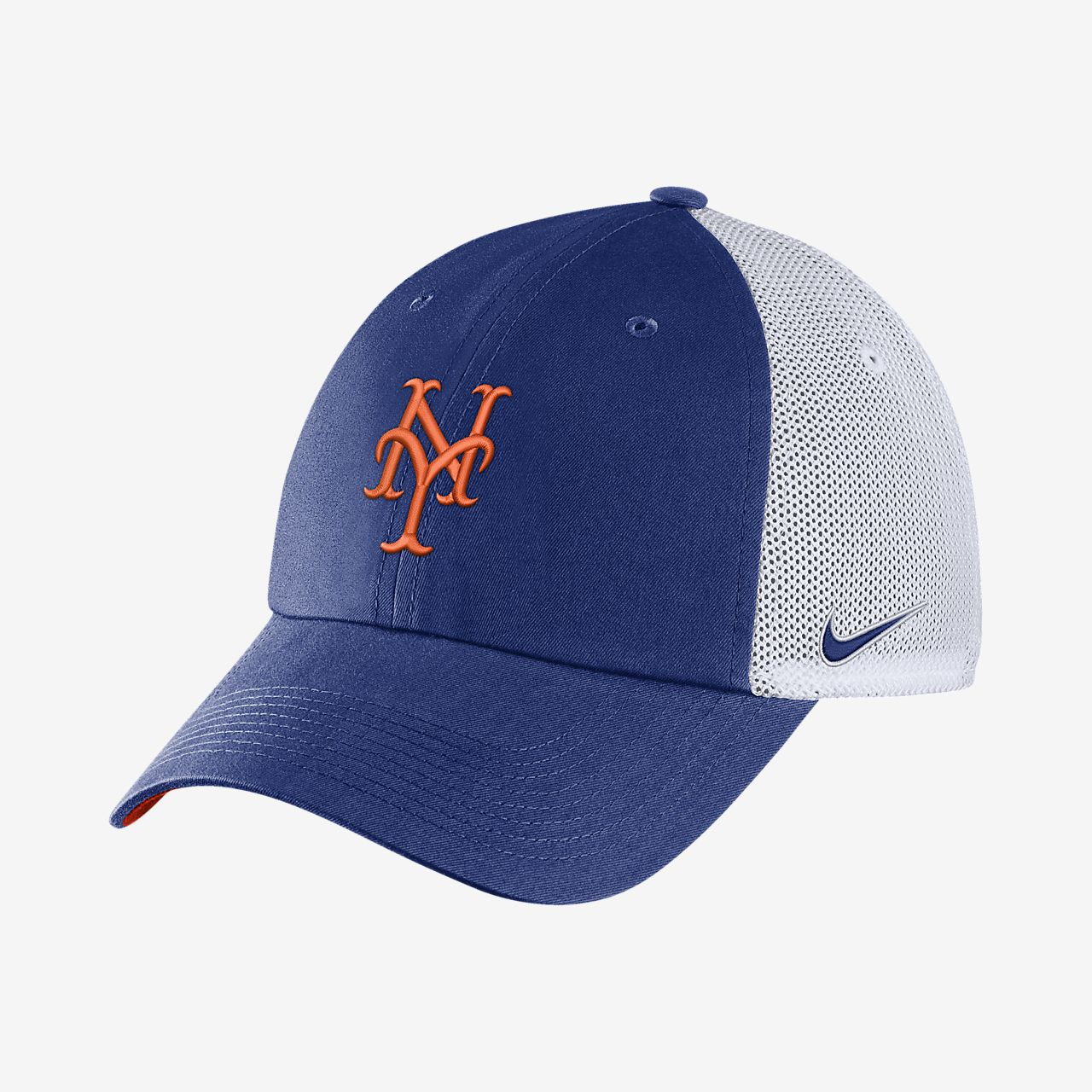 aliexpress for whole family factory price Nike Heritage86 (MLB Mets) Trucker Hat. Nike.com