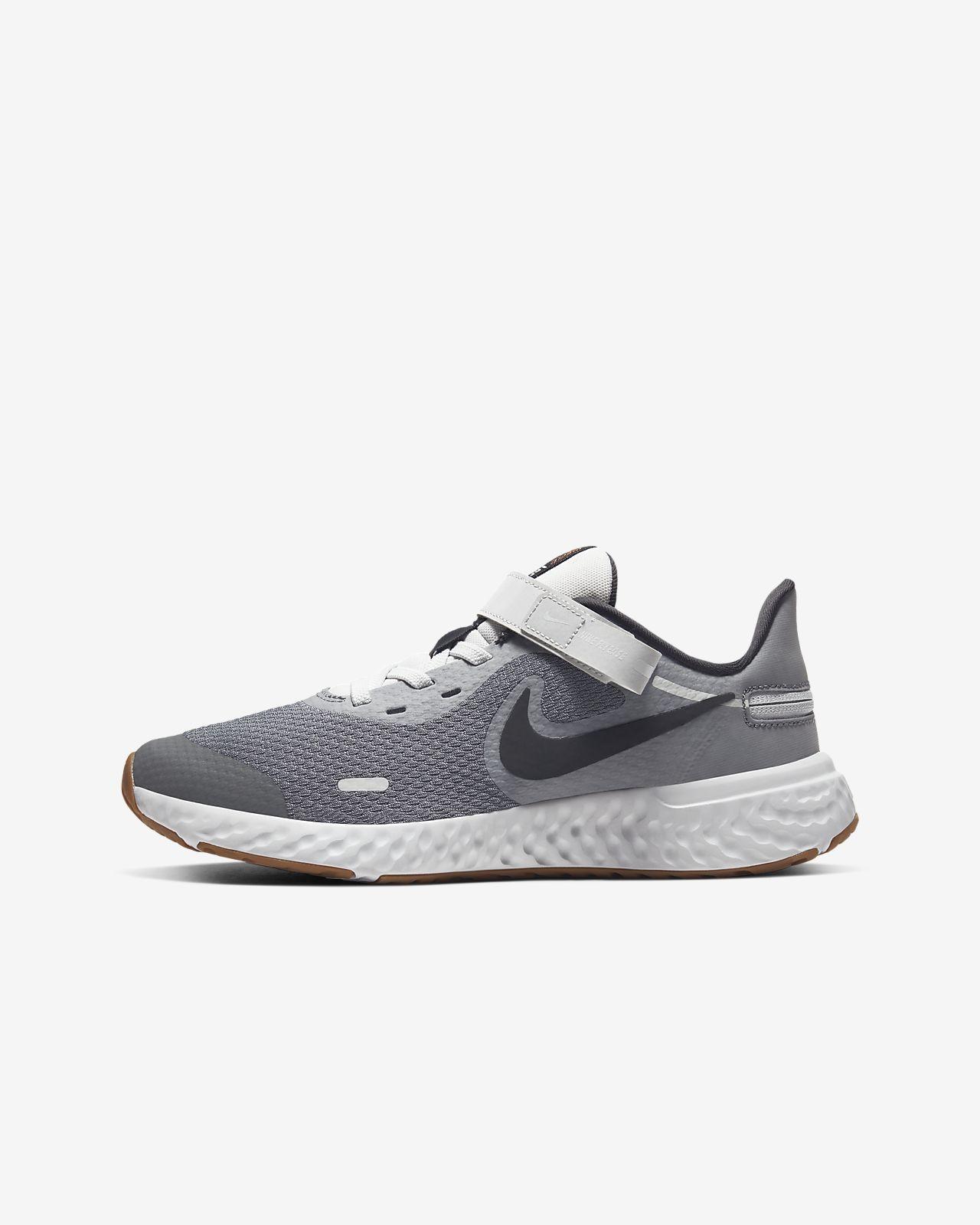 Löparsko Nike Revolution 5 FlyEase för ungdom (bred modell)