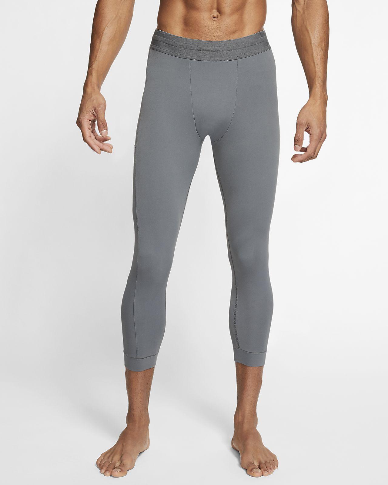 Tights da yoga a 3/4 - Uomo