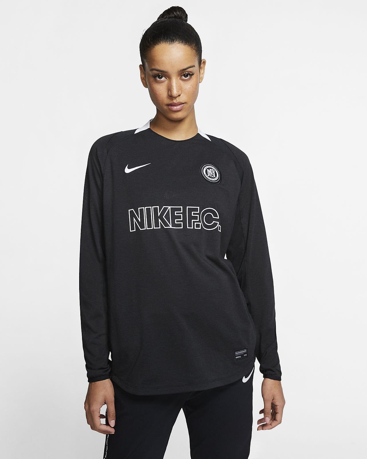 Nike F.C. Women's Long-Sleeve Football Shirt