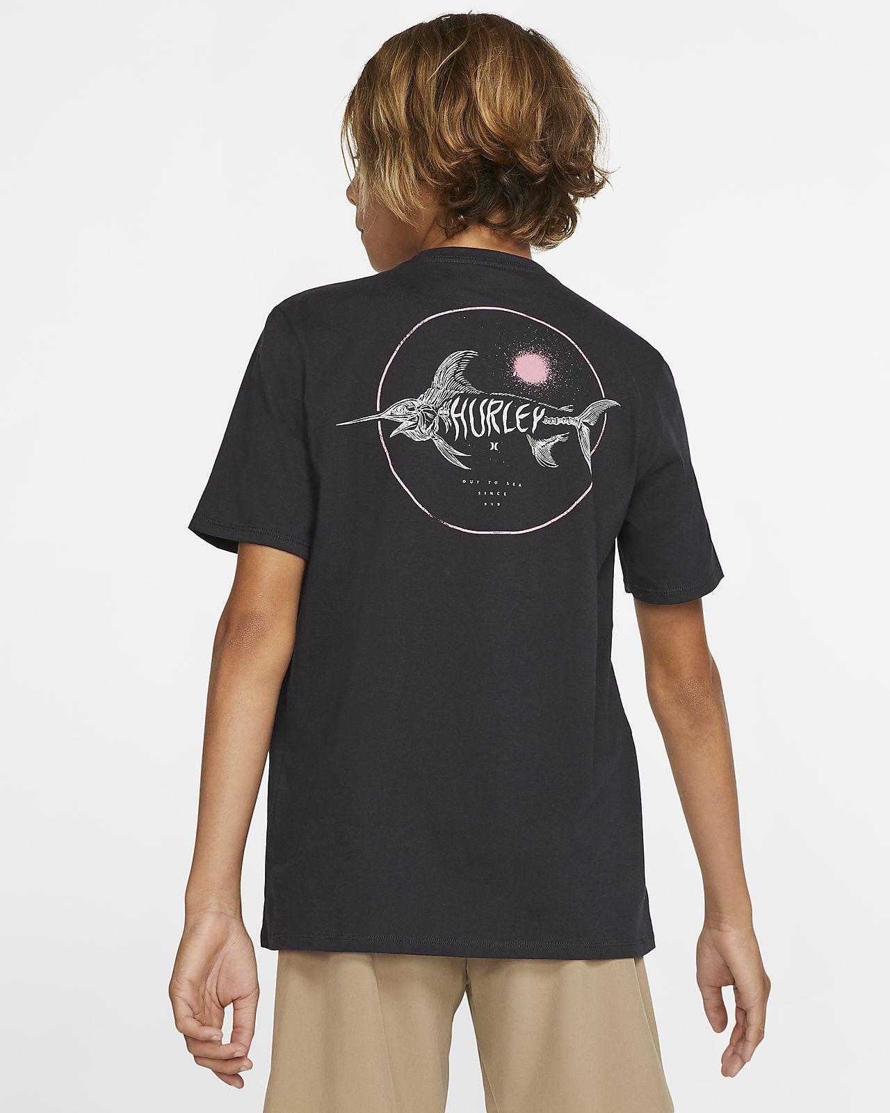 Hurley Premium Salty Bones Pocket Boys' T-Shirt