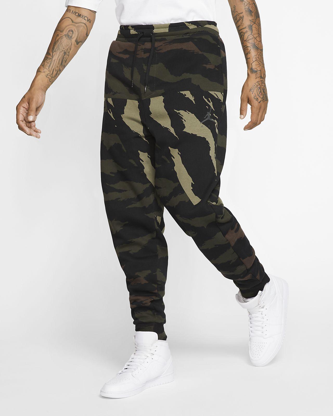 Jordan Jumpman fleecebukse med kamuflasjemønster