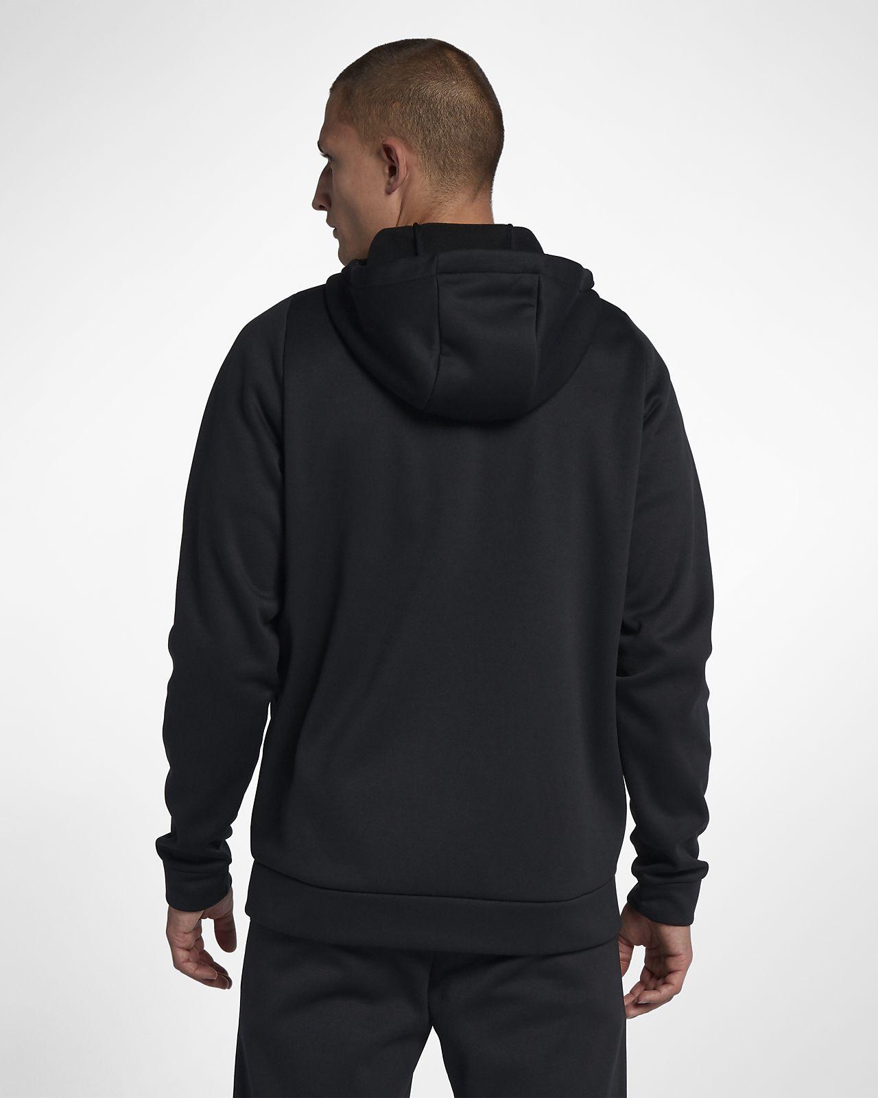 Nike Mens Therma Full Zip Training Hoodie
