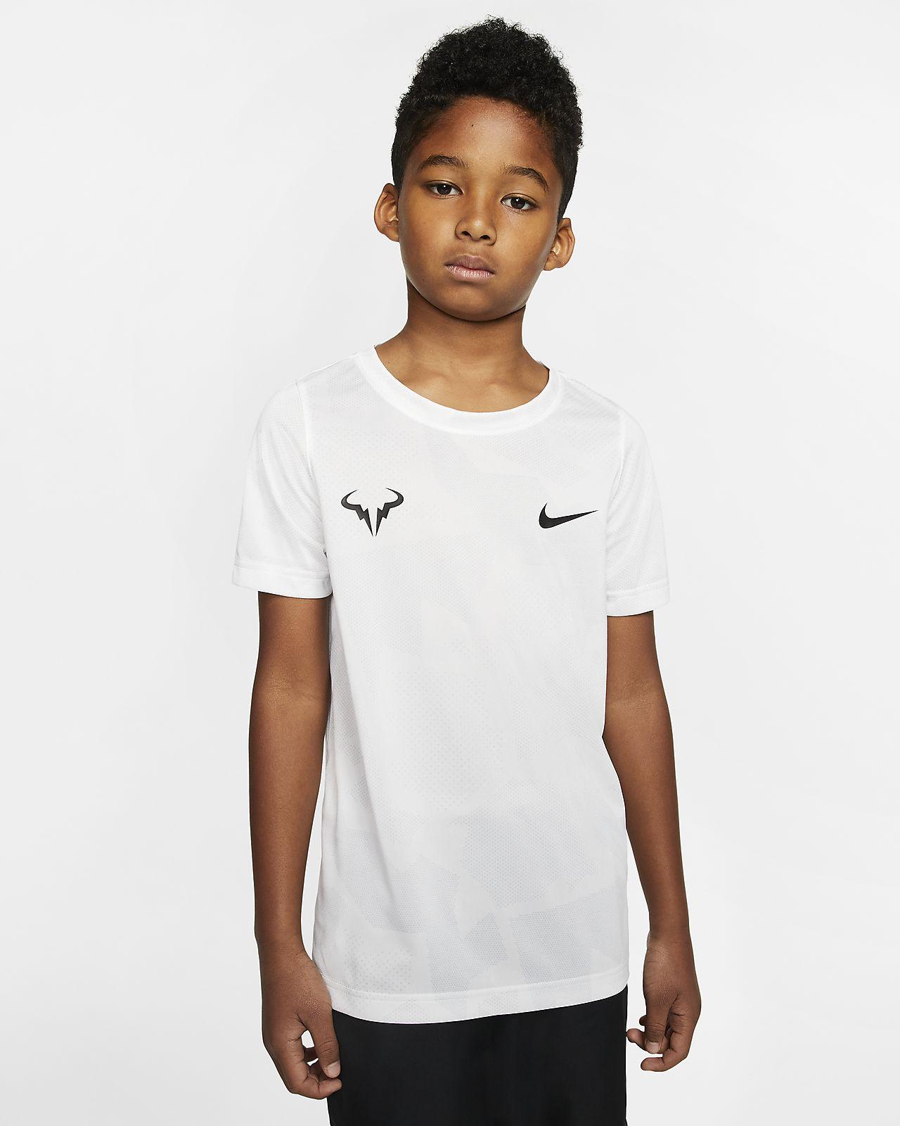 NikeCourt Dri FIT Rafa Tennis T Shirt für Jungen