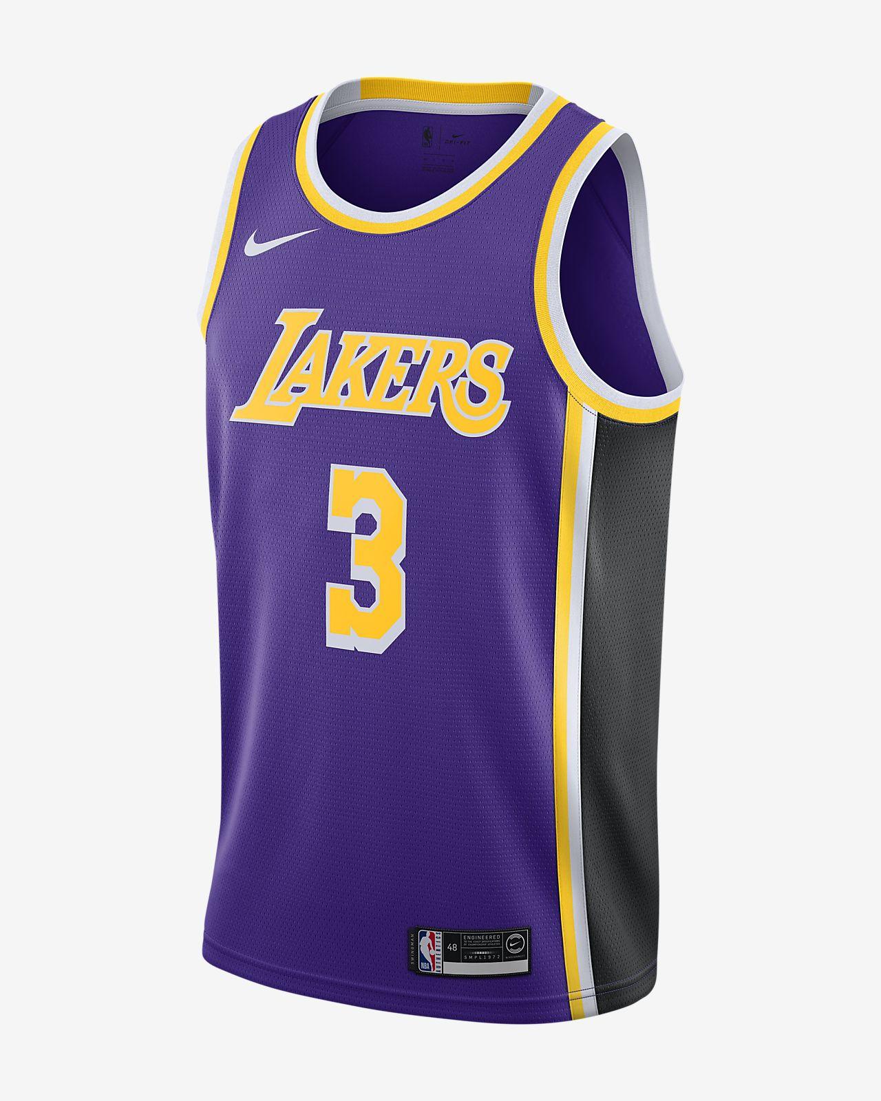 Anthony Davis Lakers Statement Edition Nike NBA Swingman Jersey