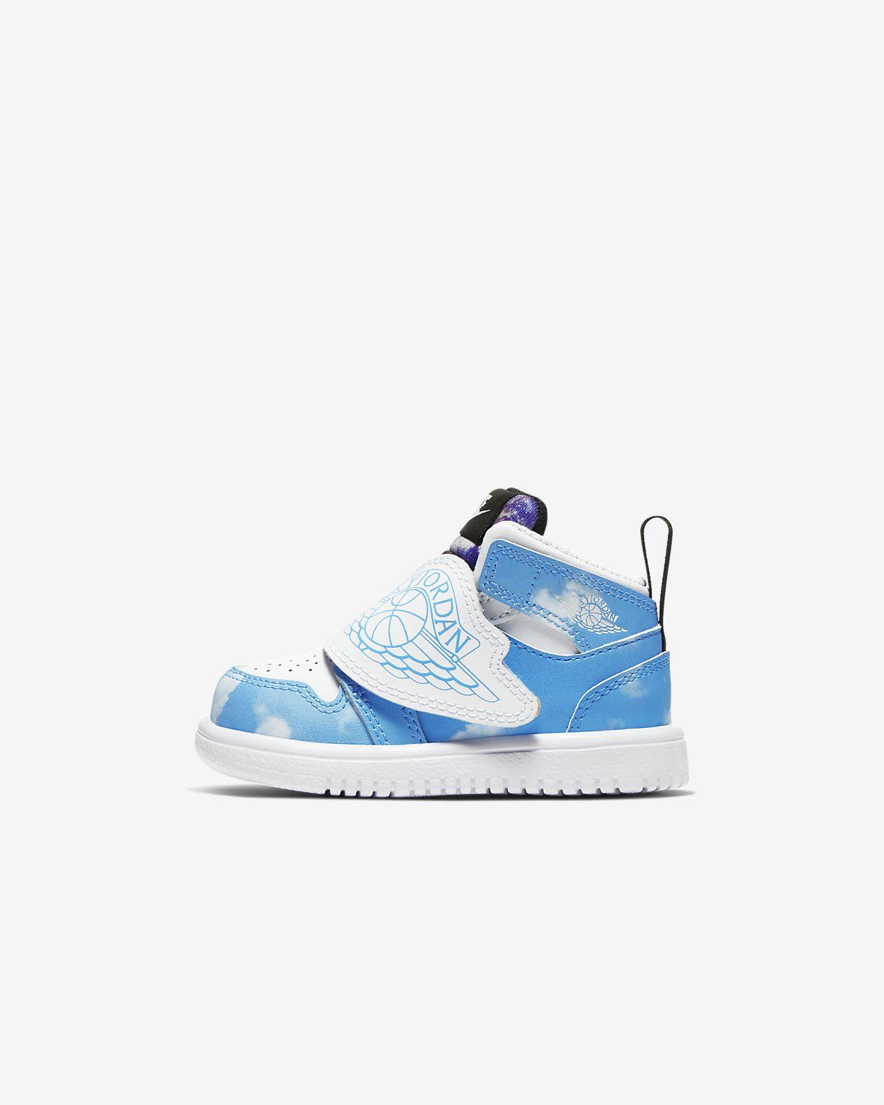 Sky Jordan 1 Fearless Baby and Toddler Shoe