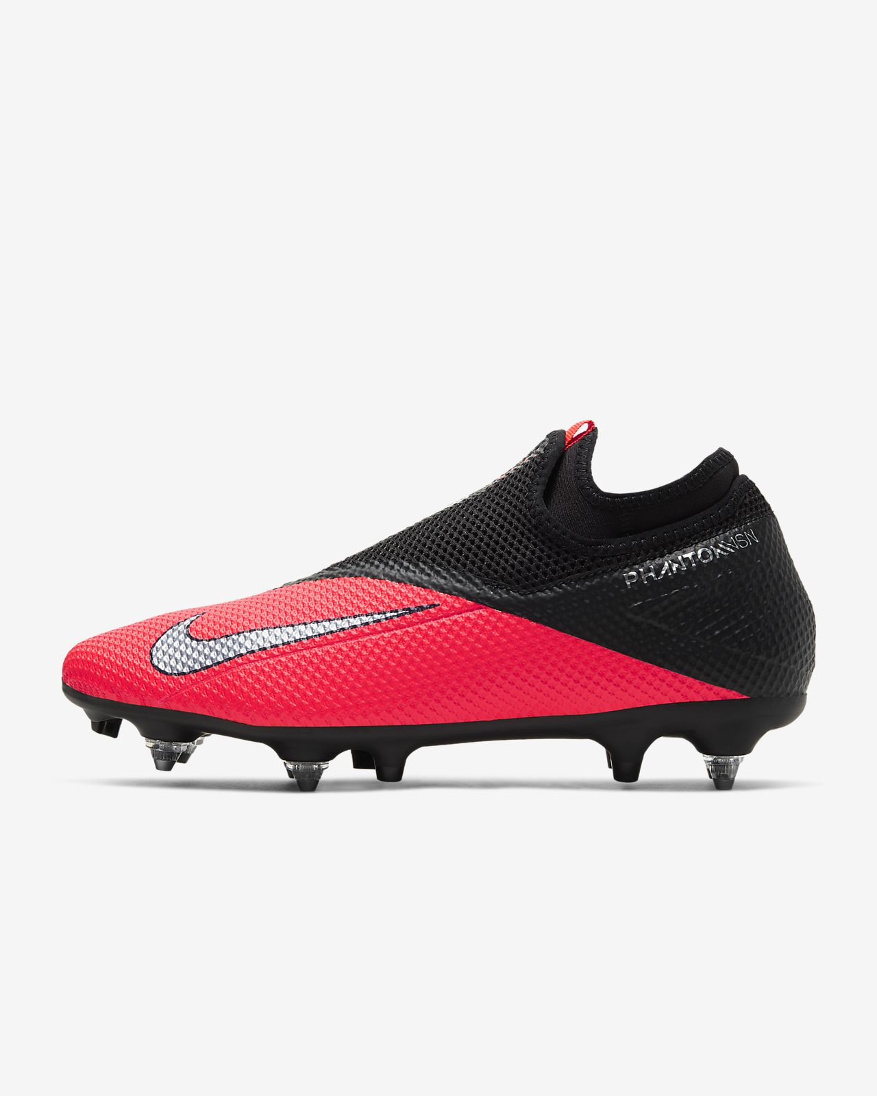 Chaussure de football à crampons pour terrain gras Nike Phantom Vision 2 Academy Dynamic Fit SG PRO Anti Clog Traction