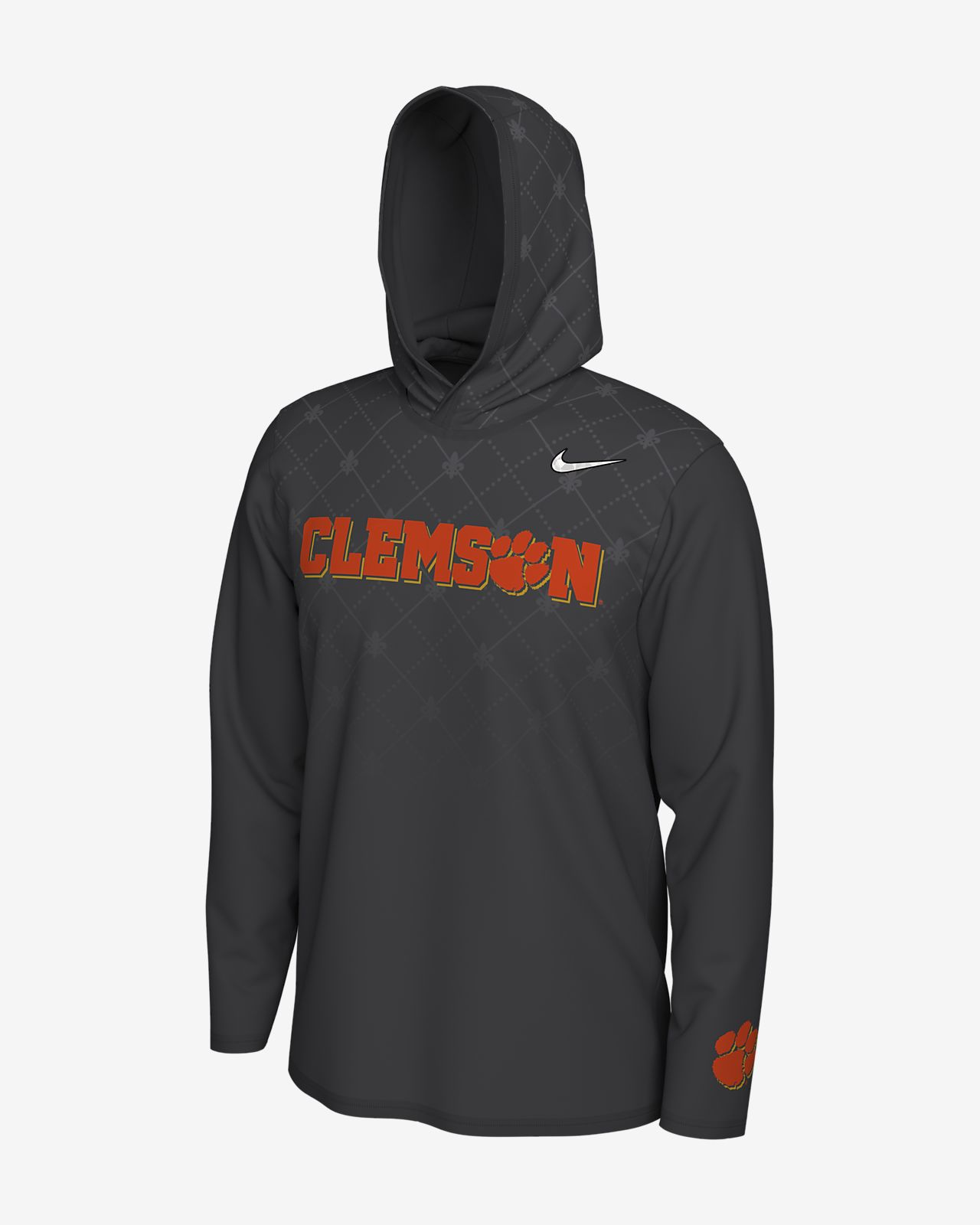 Nike College Dri-FIT Playoff Bound (Clemson) Men's Long-Sleeve Hooded Top