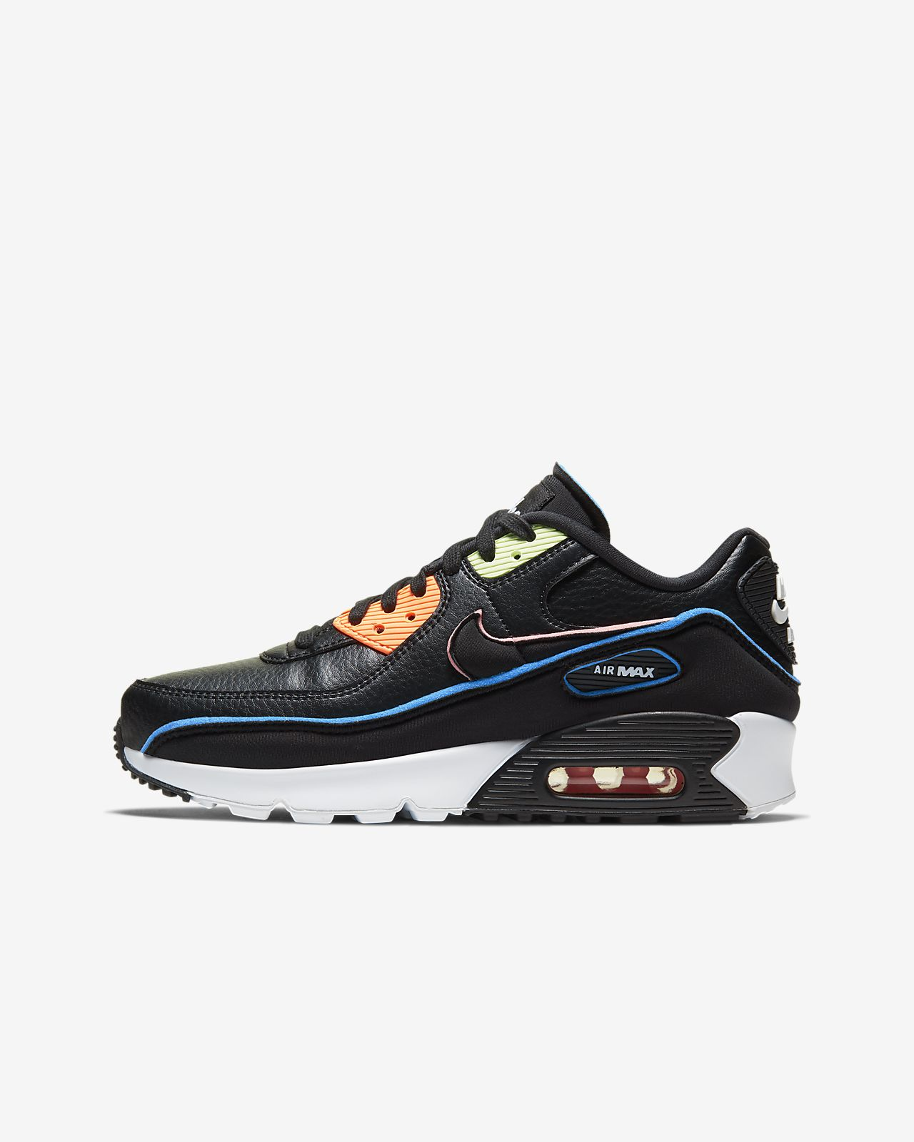 Nike x Undefeated Air Max 90 Younger Kids' Shoe
