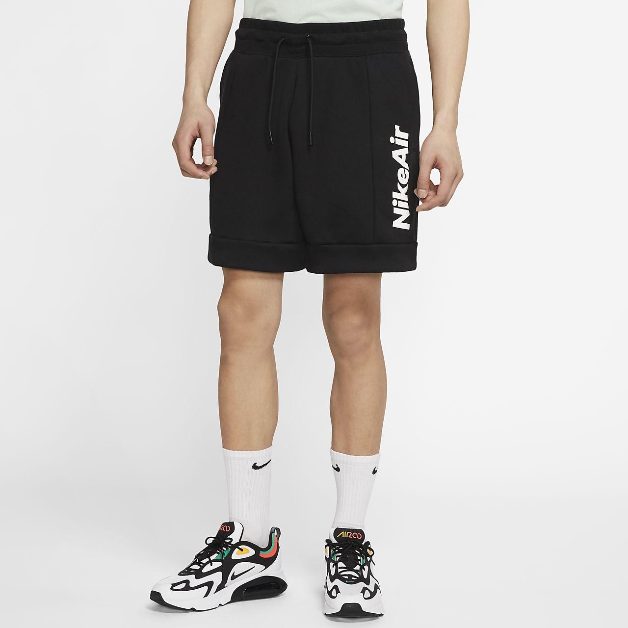 กางเกงขาสั้นผ้าฟลีซผู้ชาย Nike Air
