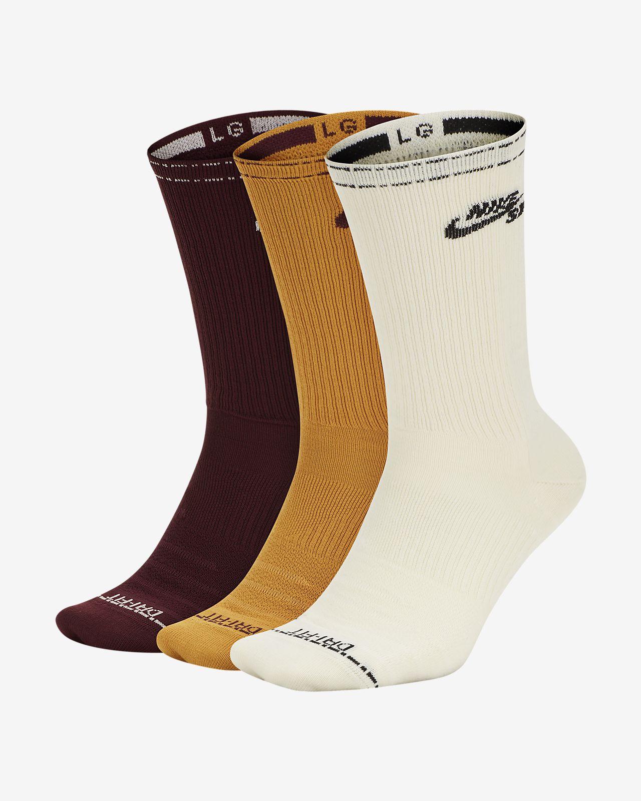 Calze da skateboard di media lunghezza Nike SB Everyday Max Lightweight (3 paia)