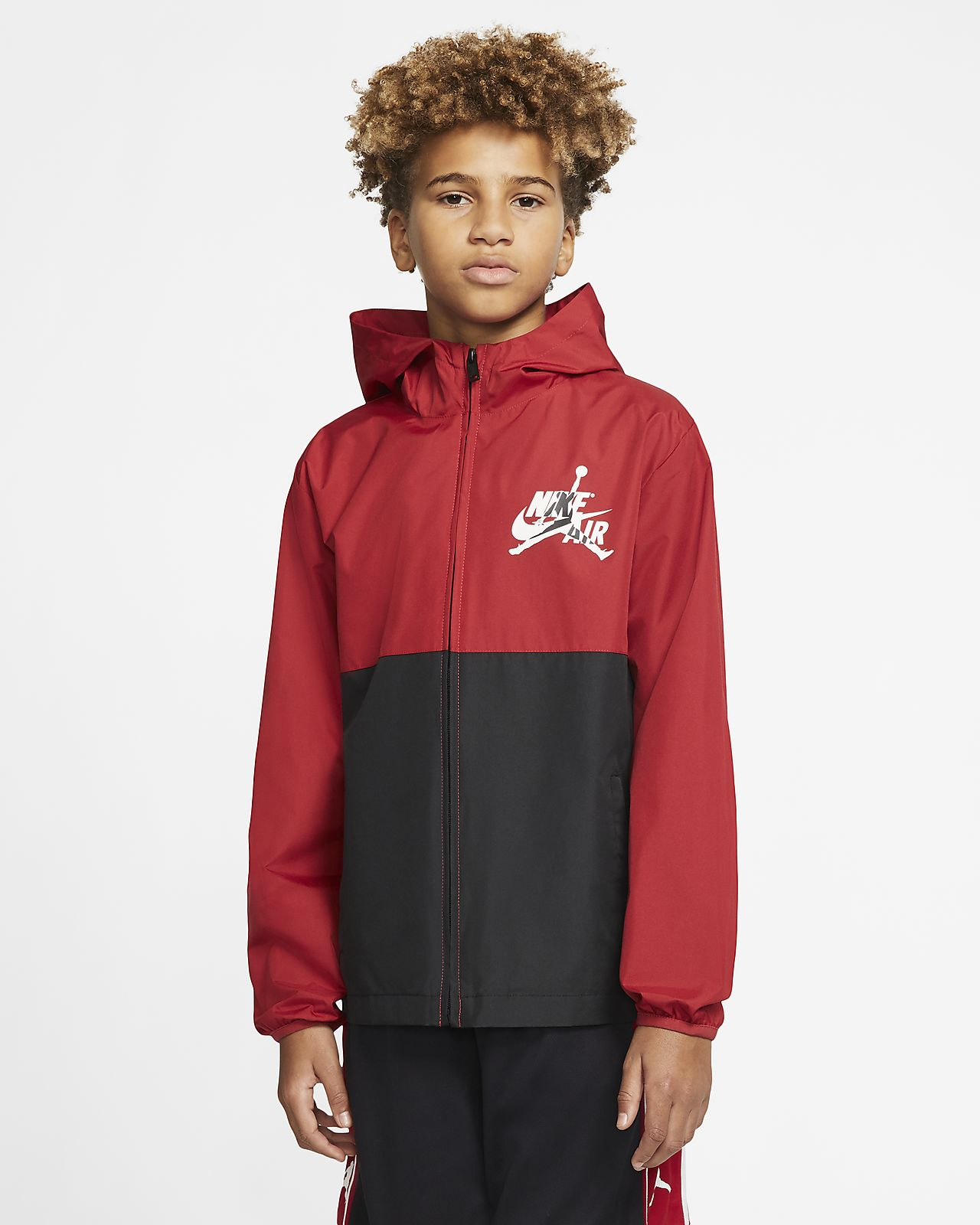 Jordan Jumpman Classics Big Kids' (Boys') Hooded Jacket
