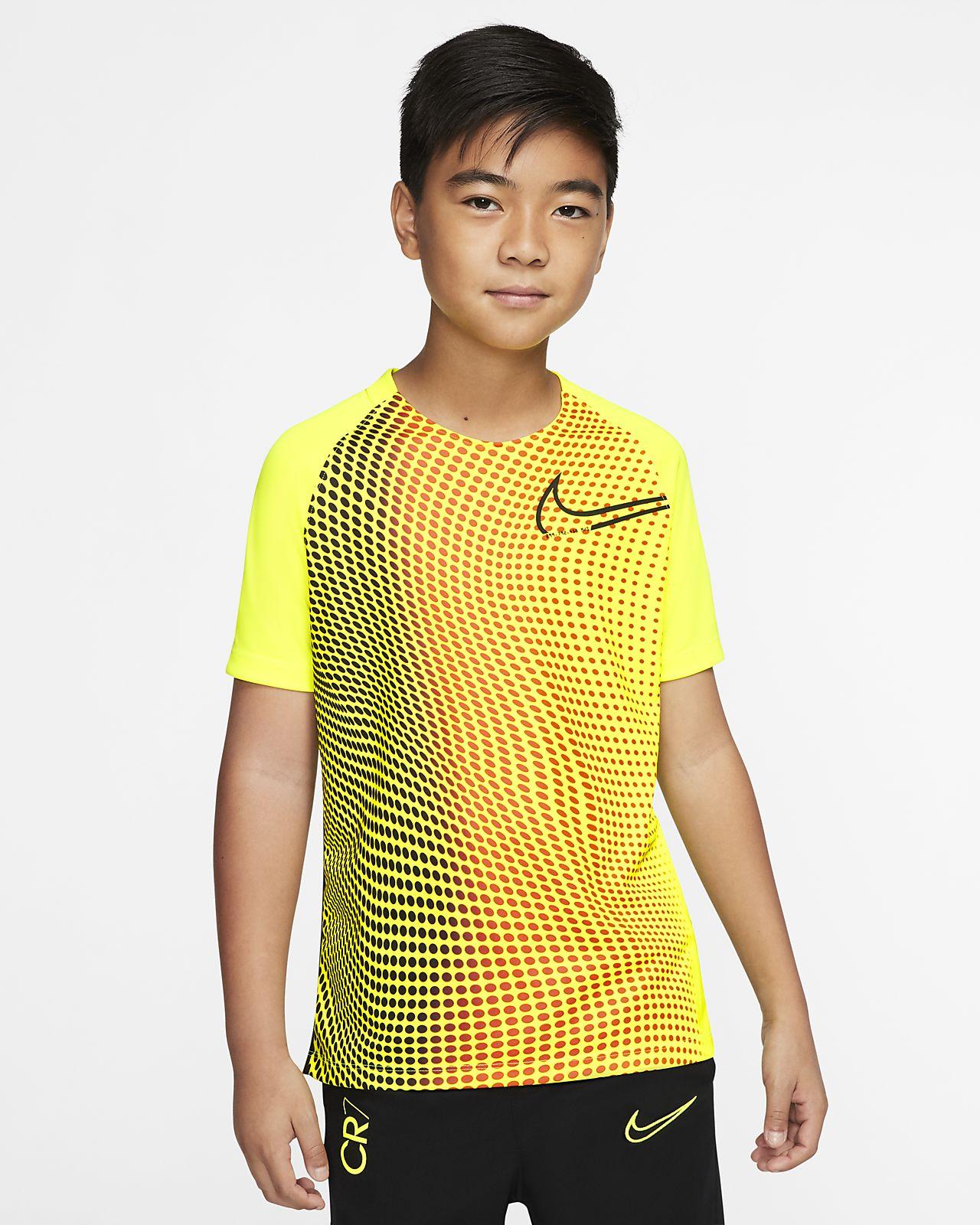 Nike Dri-FIT CR7 kortermet fotballoverdel til store barn