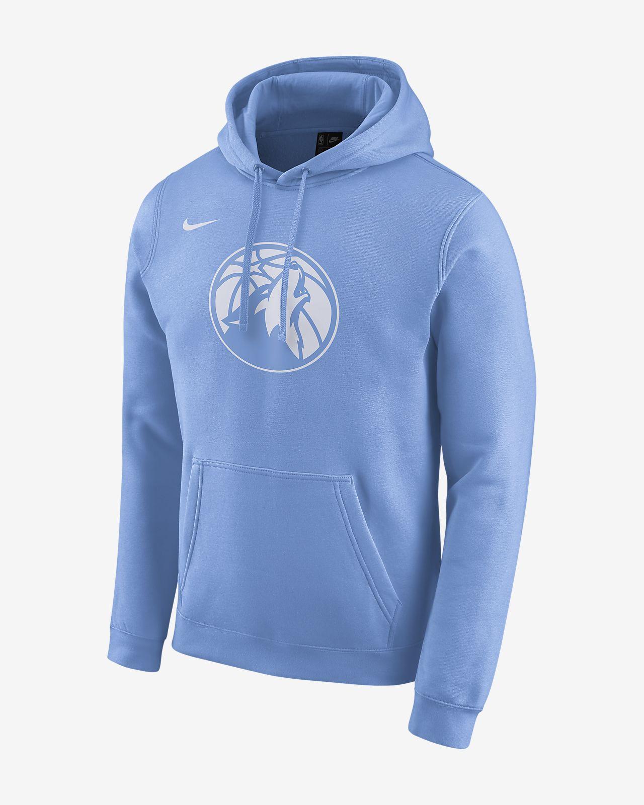 Timberwolves City Edition Logo Nike NBA s férfi kapucnis pulóver