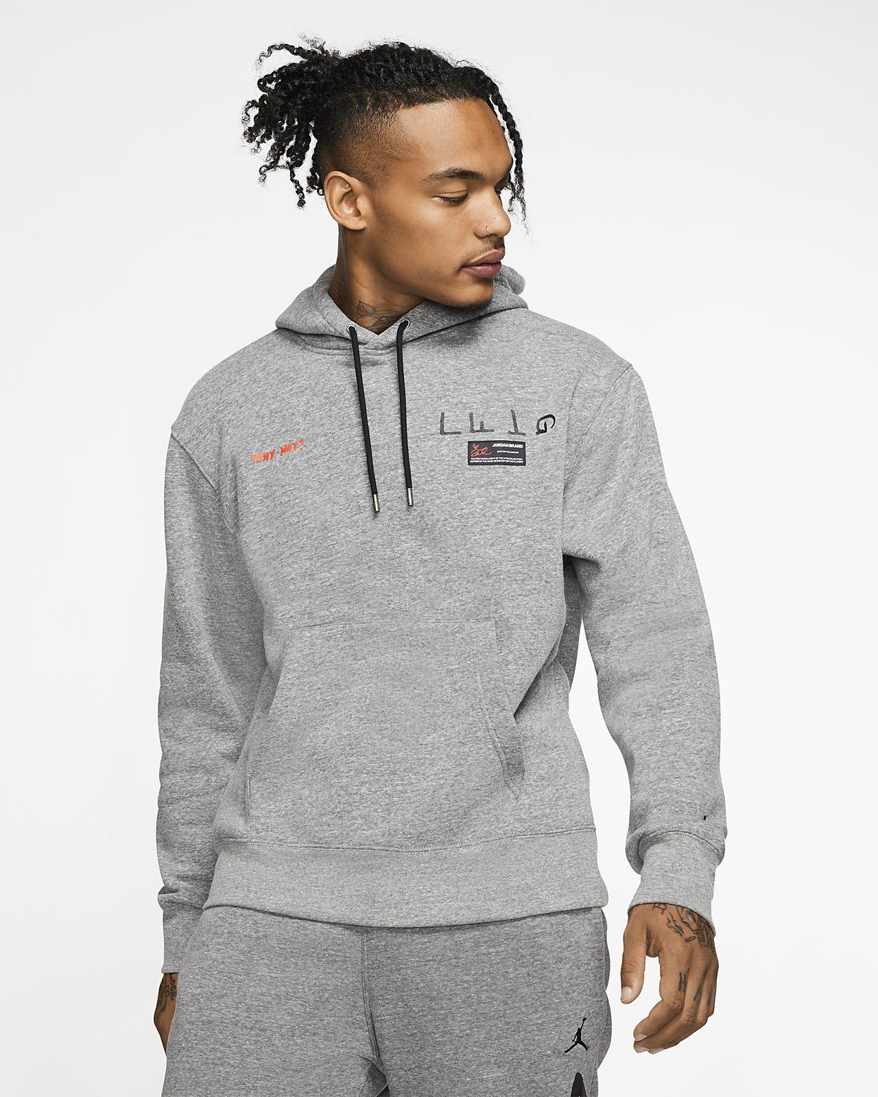 Мужской флисовый пуловер Jordan x Russell Westbrook Why Not?