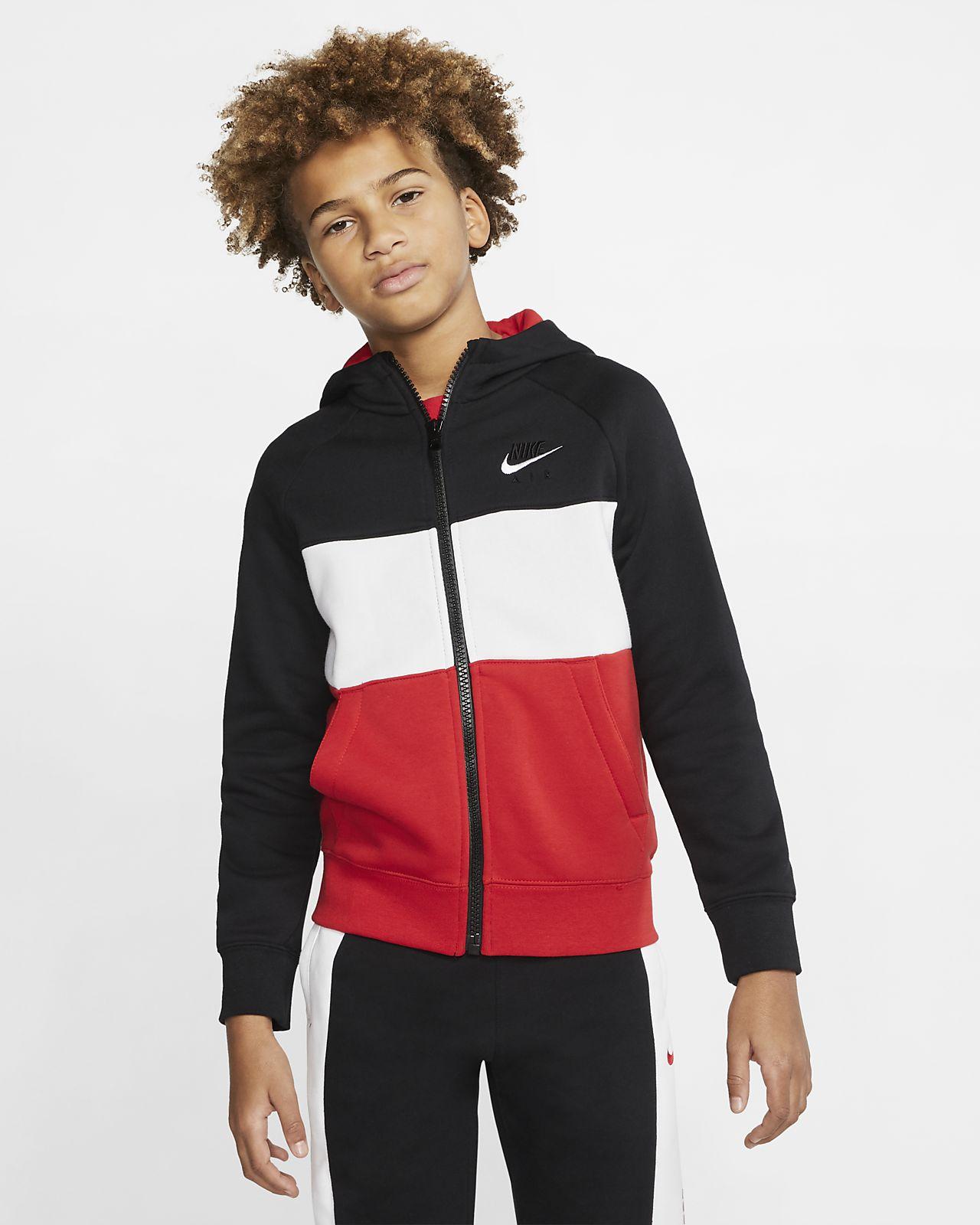 Nike Air hettejakke til store barn (gutt)