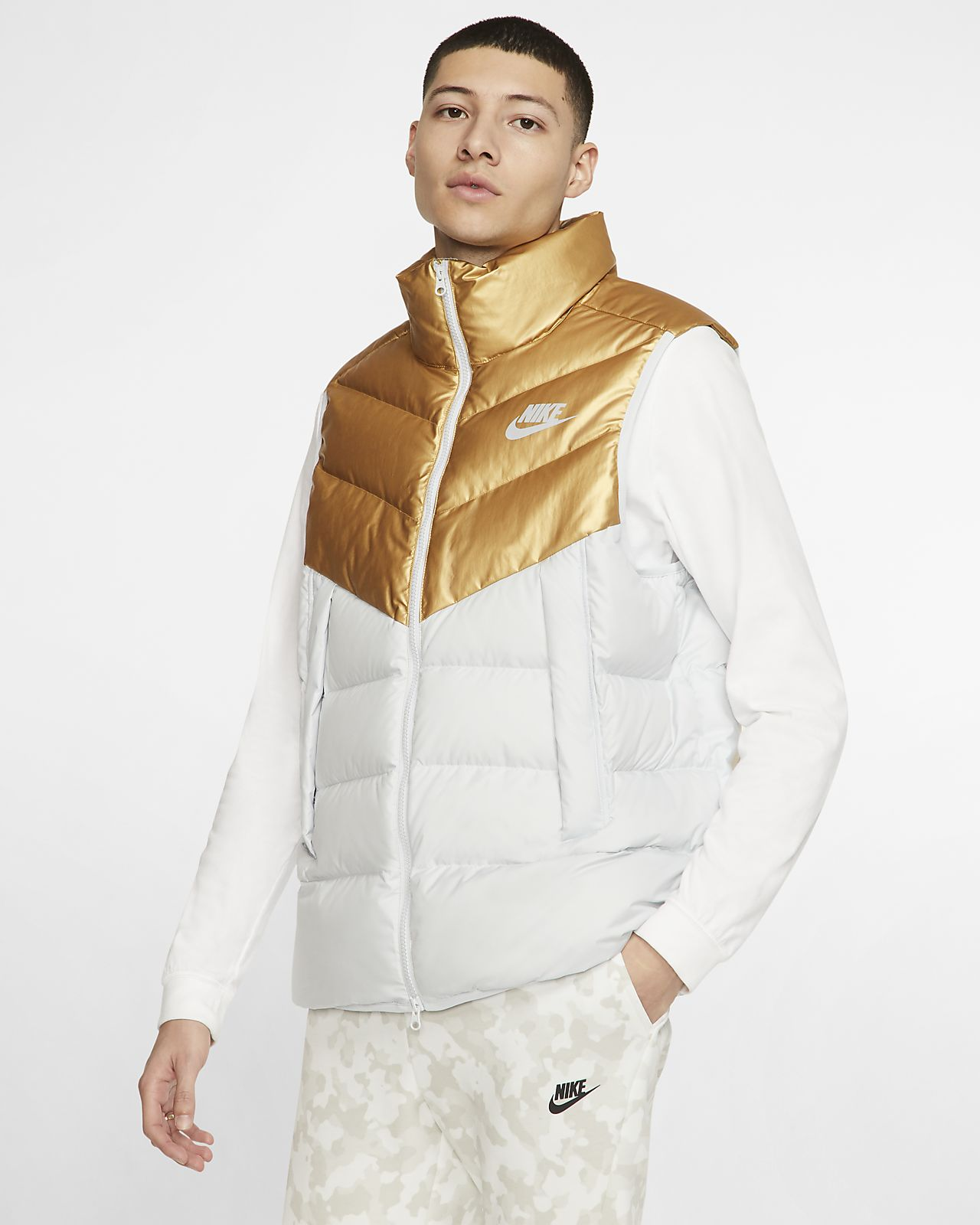 Chaleco con relleno de plumas para hombre Nike Sportswear