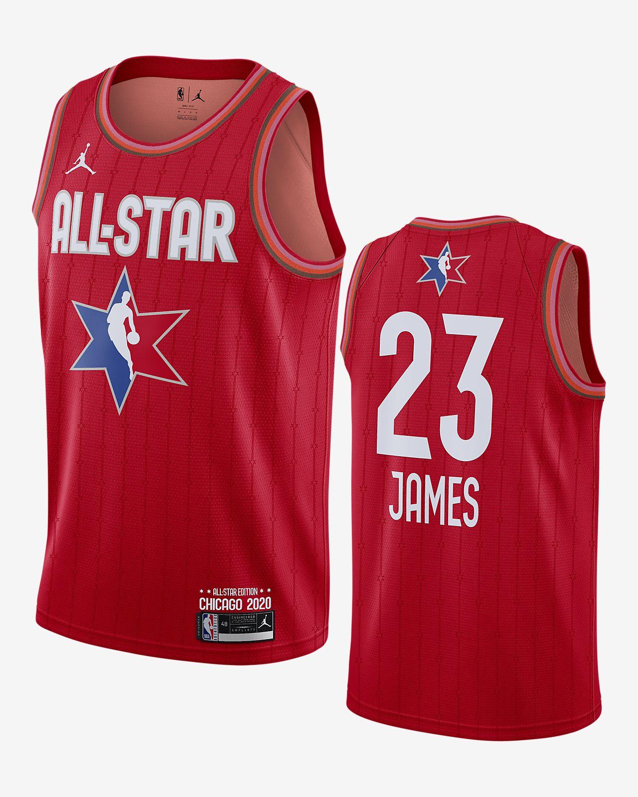 เสื้อแข่ง Jordan NBA Swingman Lebron James All-Star