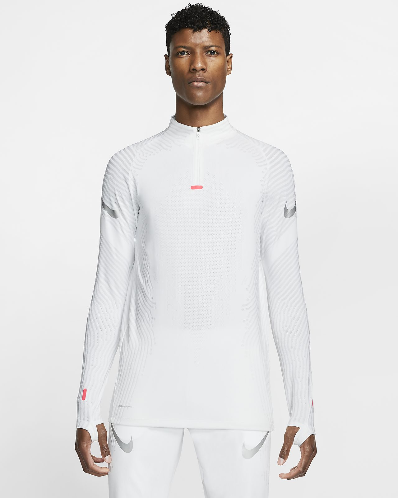 Nike VaporKnit Strike-fodboldtræningstrøje til mænd