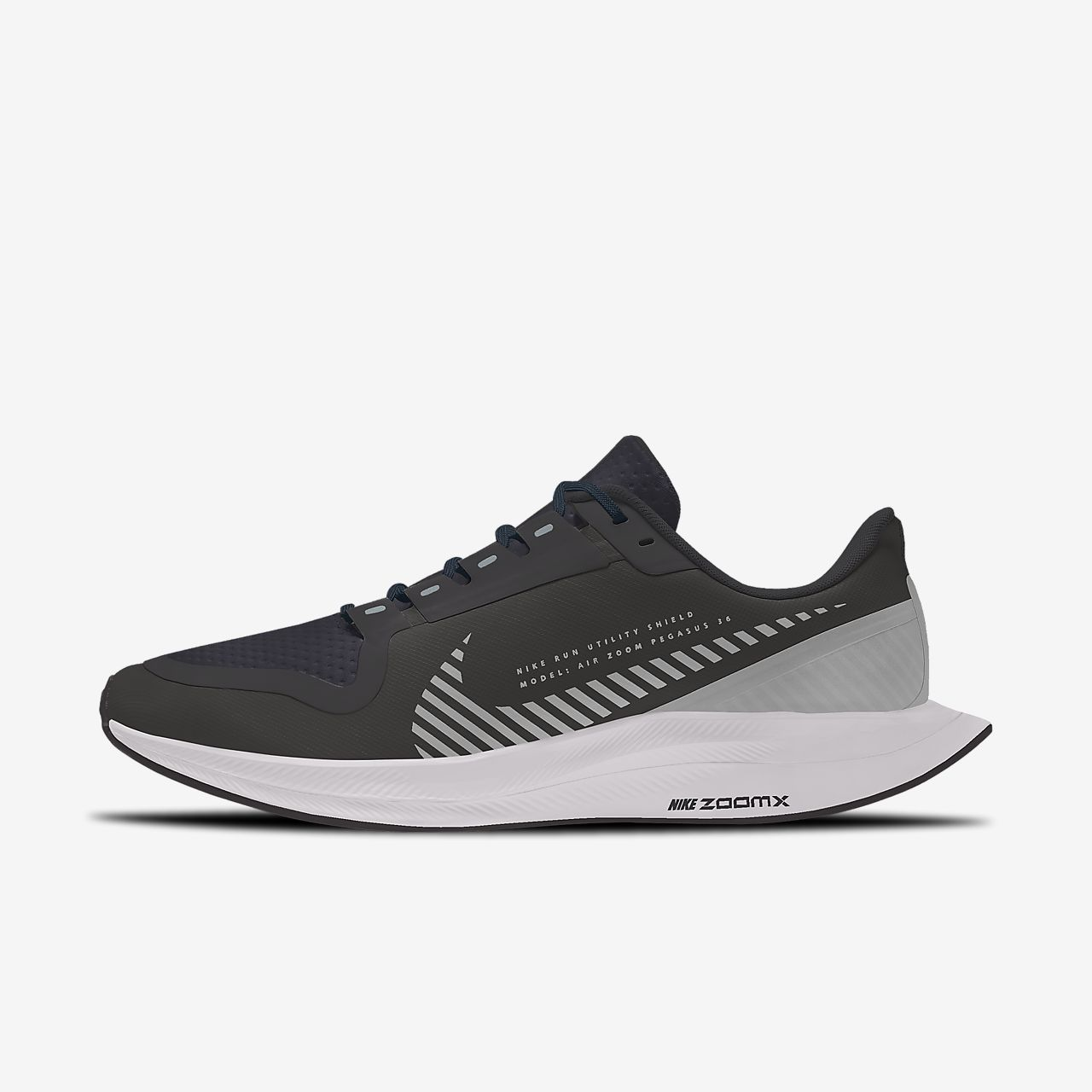 Nike Zoom Pegasus Turbo 2 Shield Low By You Zapatillas de running personalizables - Mujer