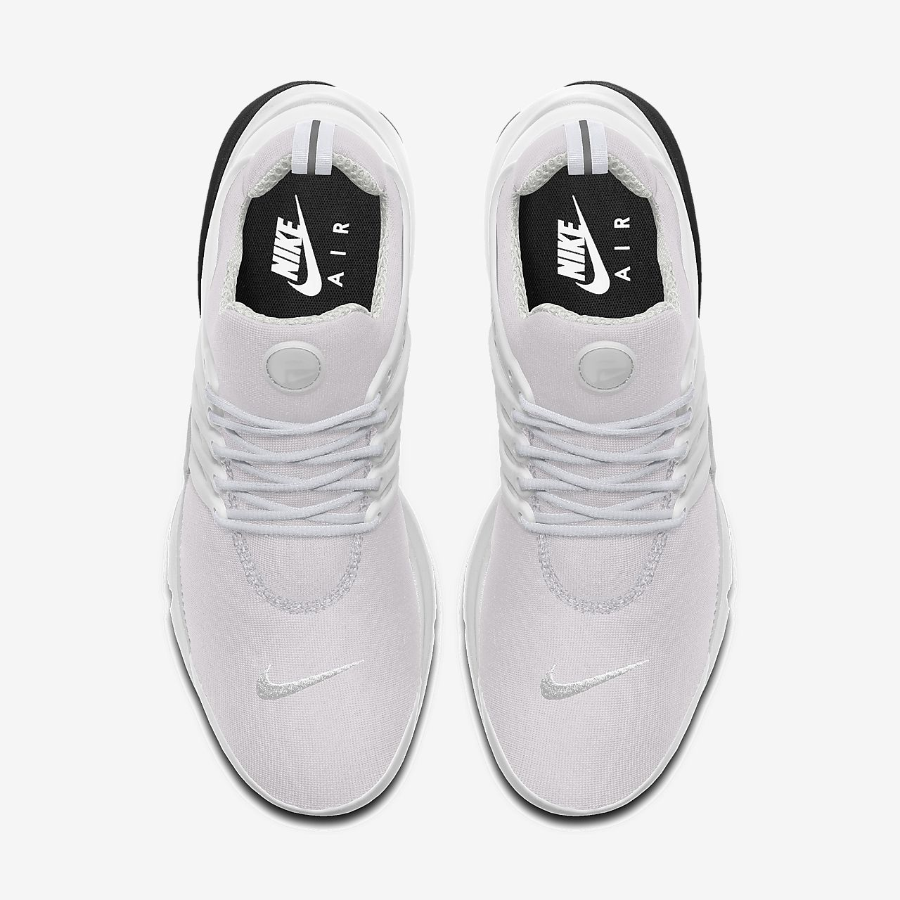 Womens Black & White Nike Air Presto Shoe