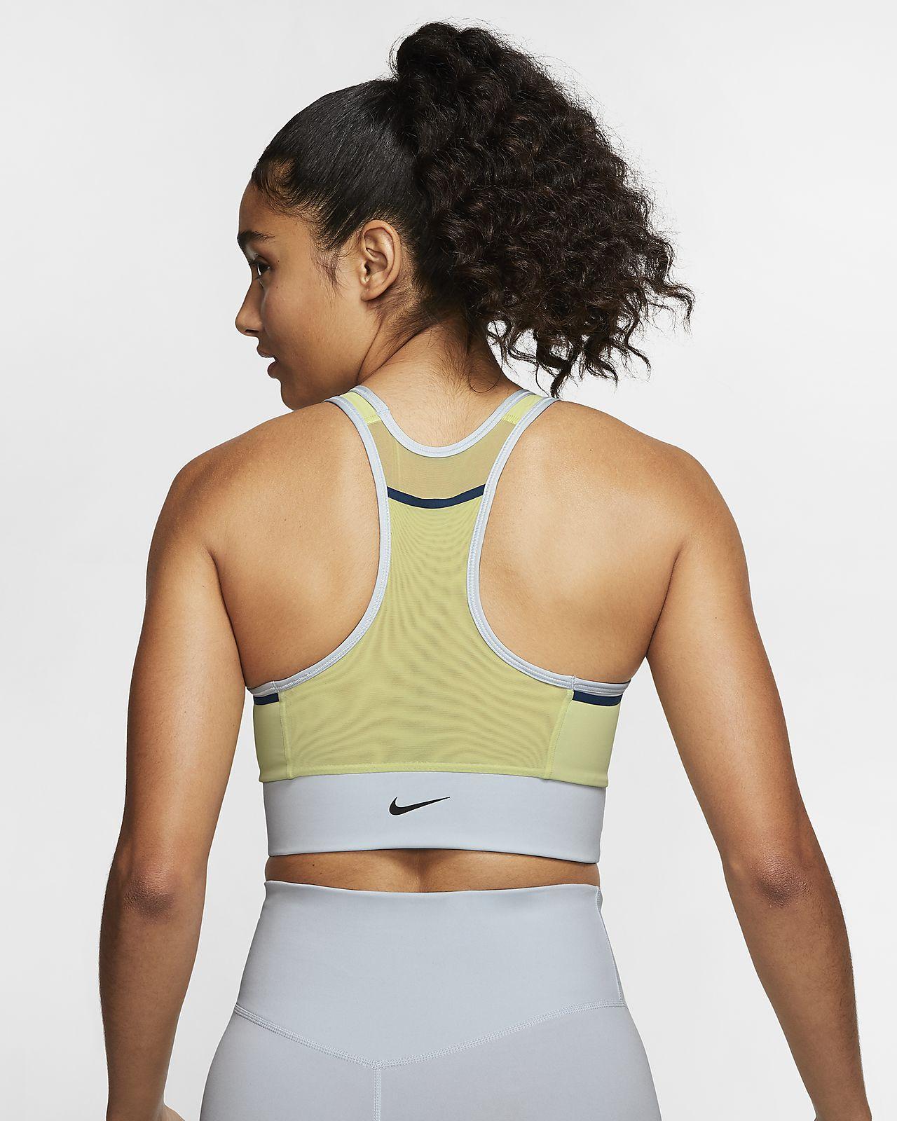 Nike Swoosh Women's Medium Support 1 Piece Pad Sports Bra
