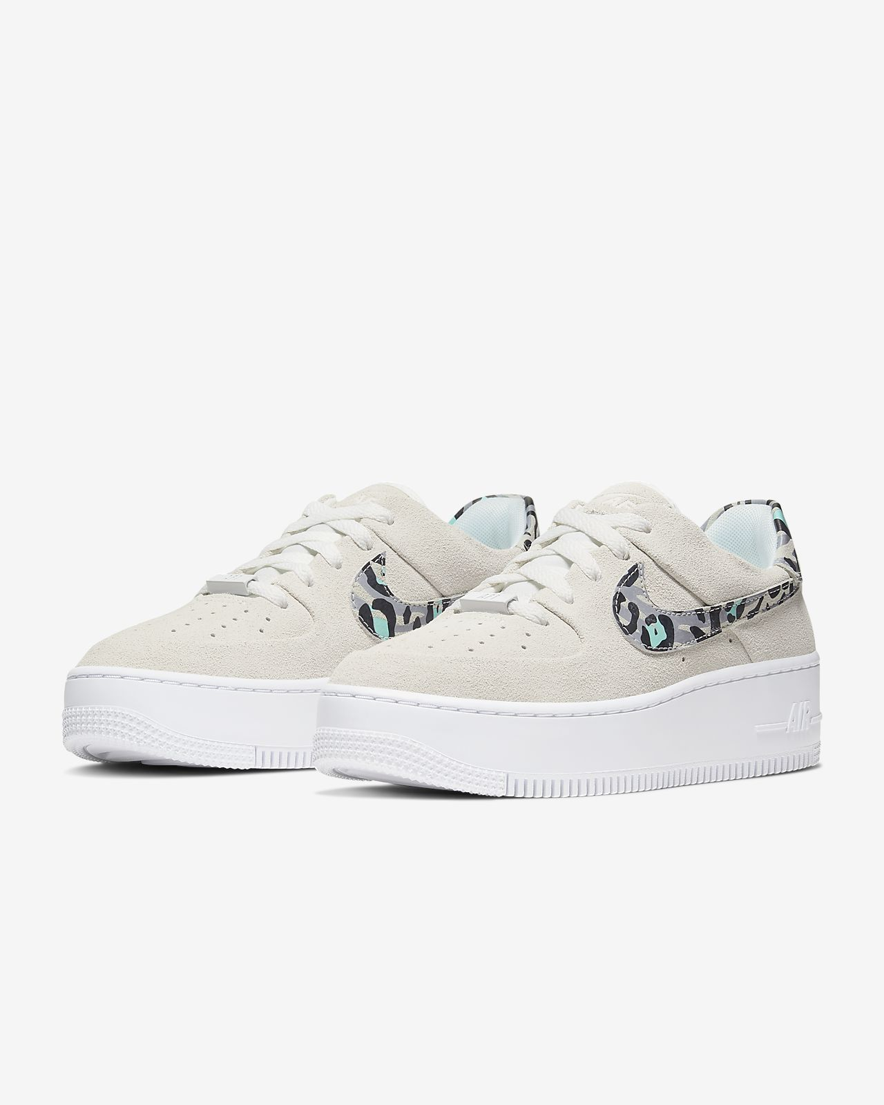 Nike Air Force 1 Sage Low Women's Animal Print Shoe